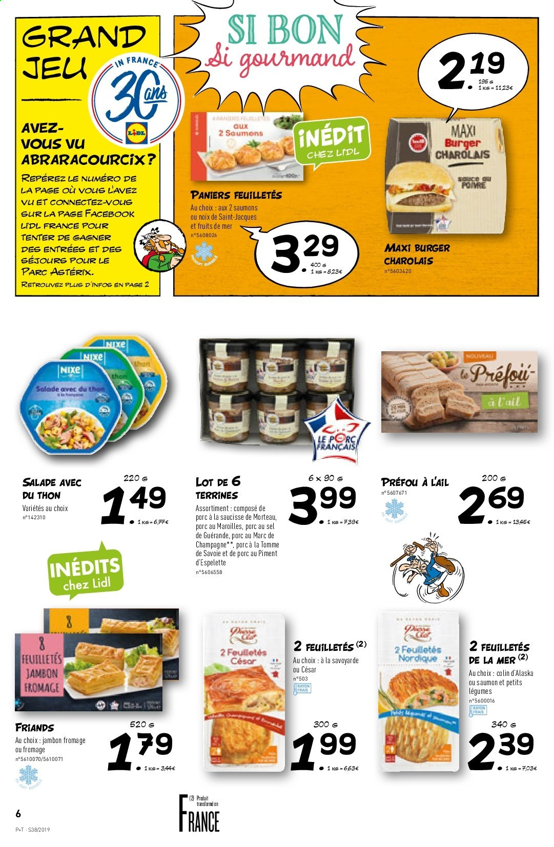 Catalogue Lidl - 18.09.2019 - 24.09.2019. Page 6.
