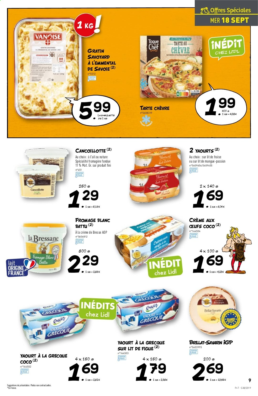 Catalogue Lidl - 18.09.2019 - 24.09.2019. Page 9.