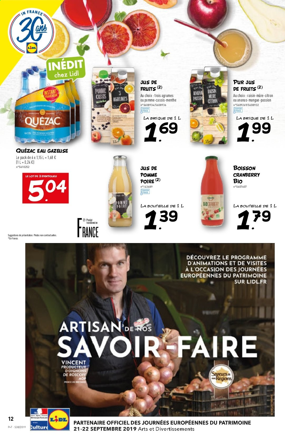 Catalogue Lidl - 18.09.2019 - 24.09.2019. Page 12.