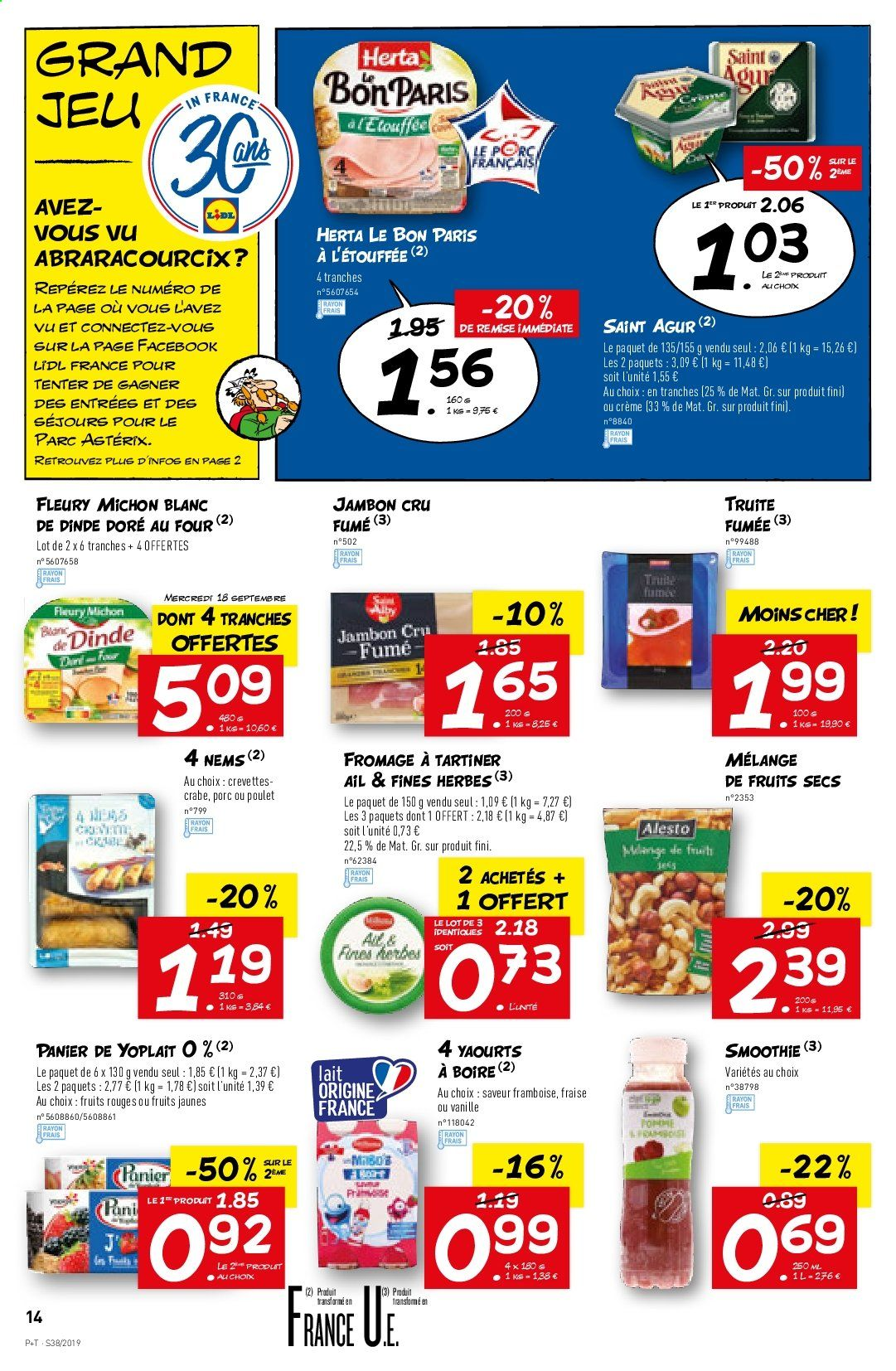 Catalogue Lidl - 18.09.2019 - 24.09.2019. Page 14.
