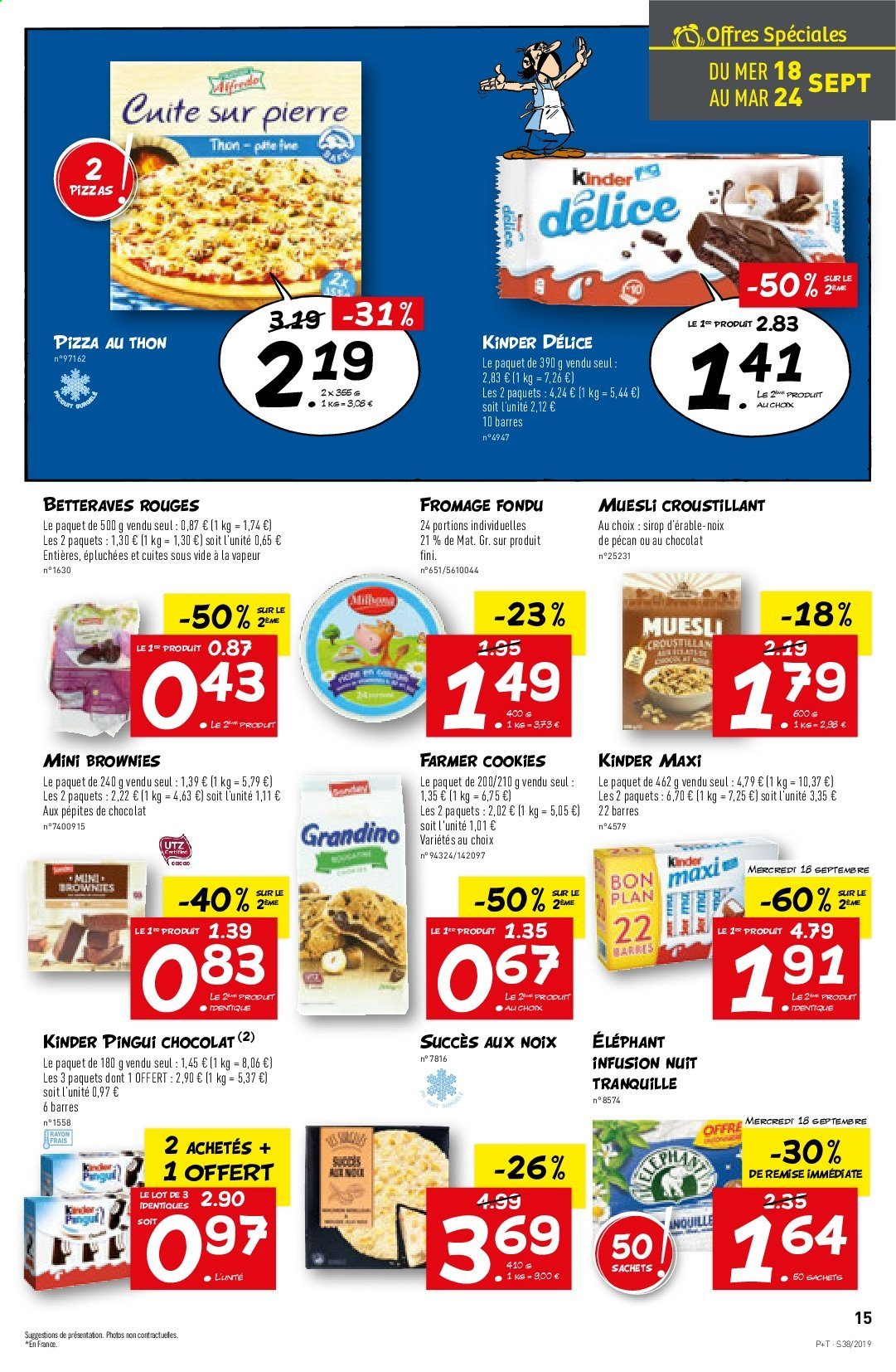 Catalogue Lidl - 18.09.2019 - 24.09.2019. Page 15.