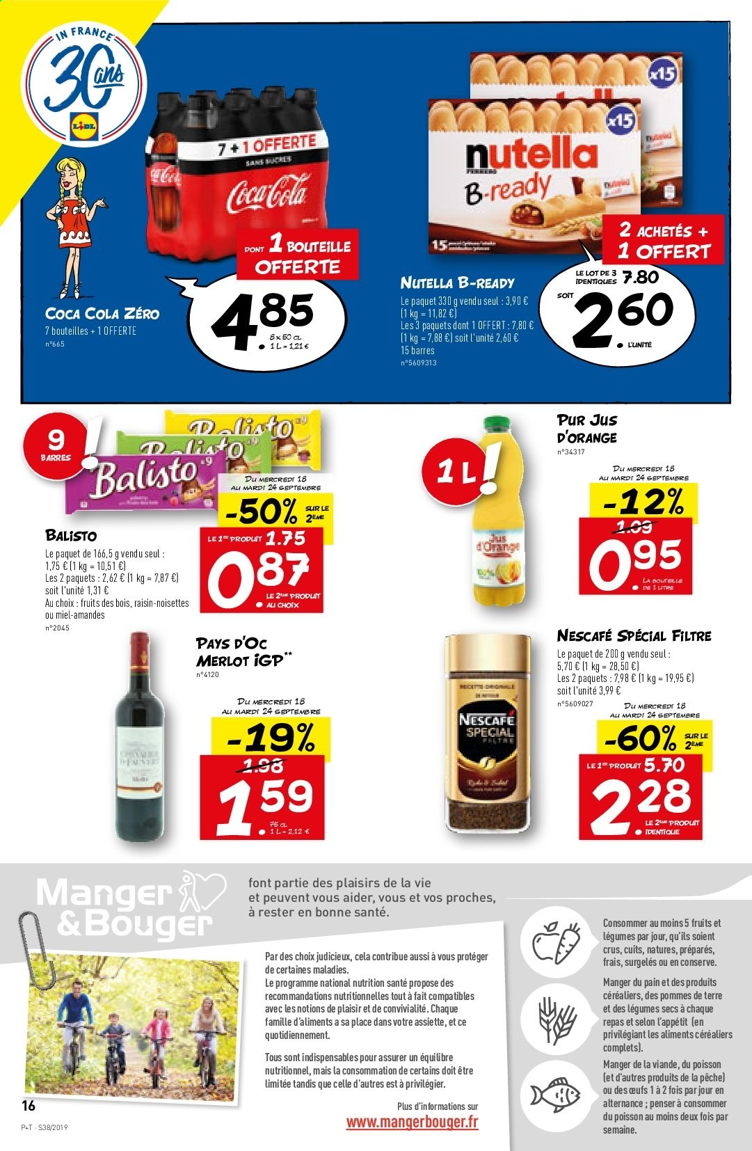 Catalogue Lidl - 18.09.2019 - 24.09.2019. Page 16.