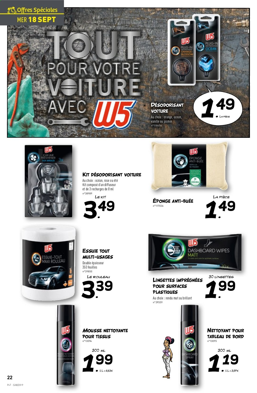 Catalogue Lidl - 18.09.2019 - 24.09.2019. Page 22.