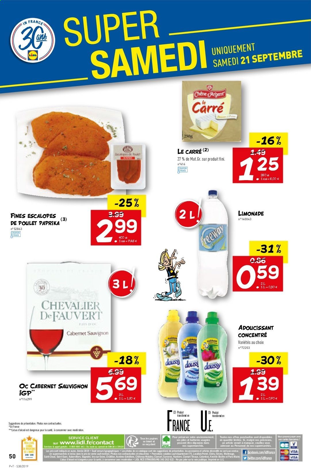 Catalogue Lidl - 18.09.2019 - 24.09.2019. Page 50.