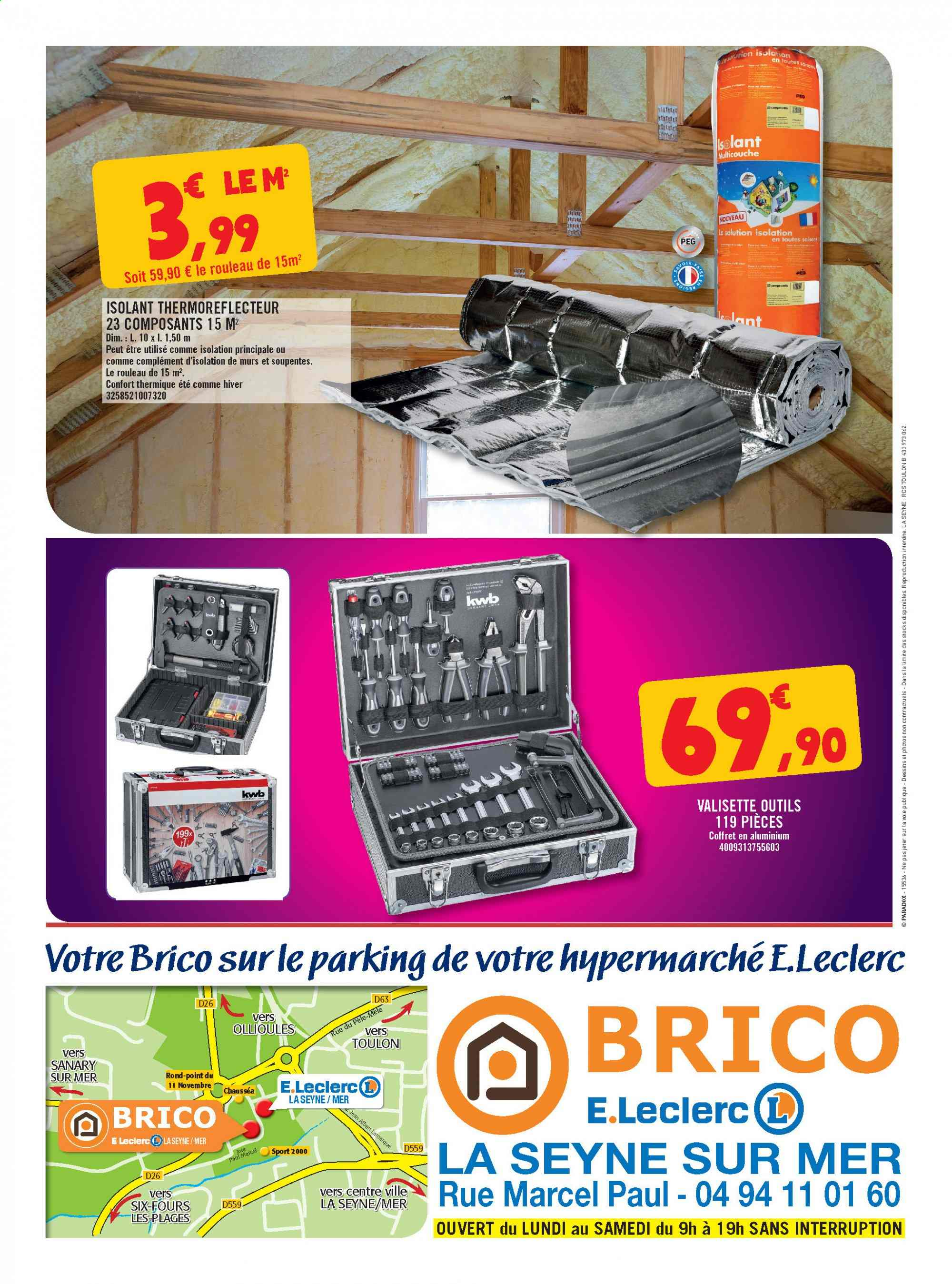 Catalogue E.Leclerc - 11.09.2019 - 28.09.2019. Page 12.