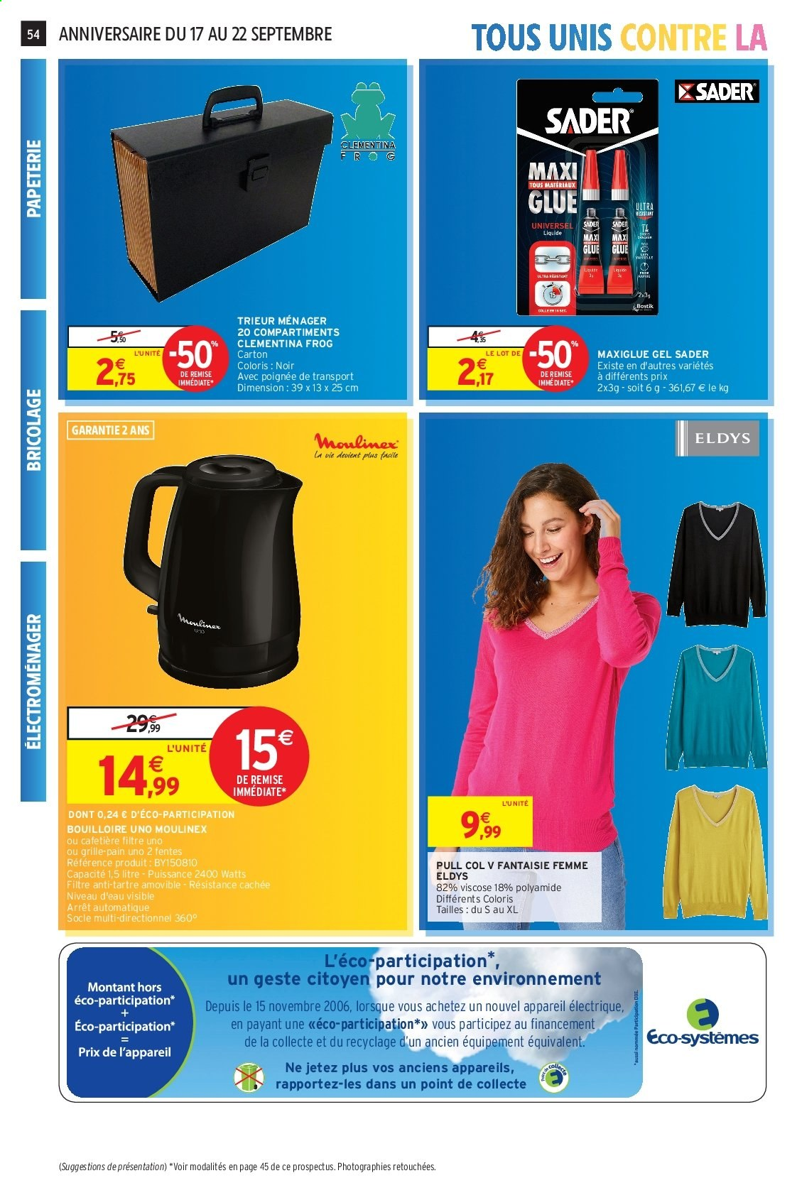 Catalogue Intermarché - 17.09.2019 - 22.09.2019. Page 53.