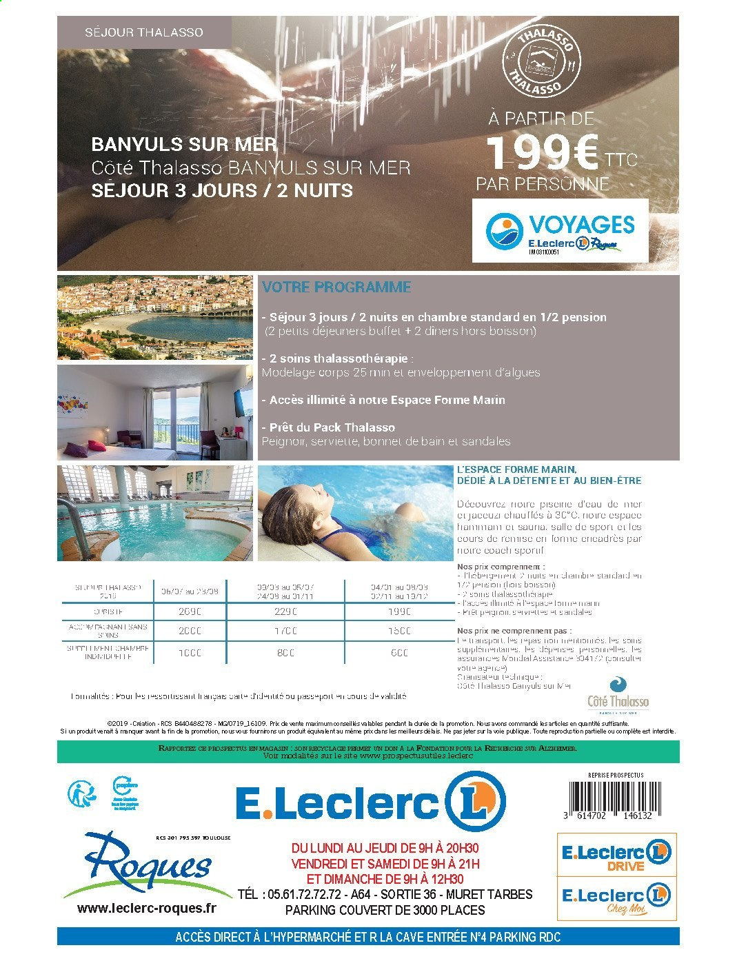 Catalogue E.Leclerc - 24.09.2019 - 06.10.2019. Page 52.