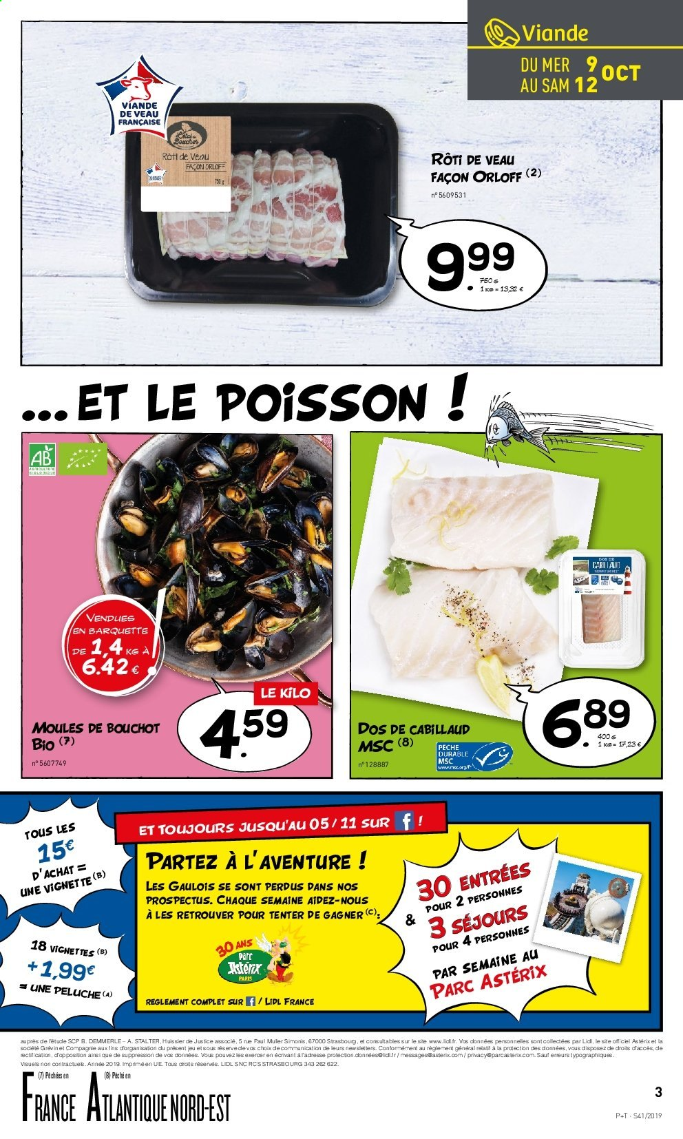 Catalogue Lidl - 09.10.2019 - 15.10.2019. Page 3.