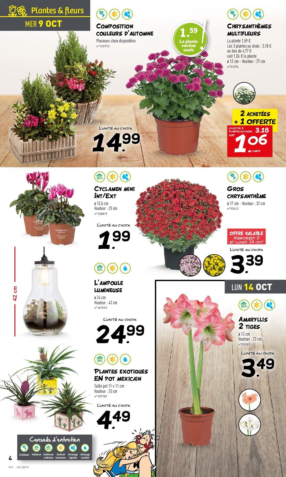 Catalogue Lidl - 09.10.2019 - 15.10.2019. Page 4.