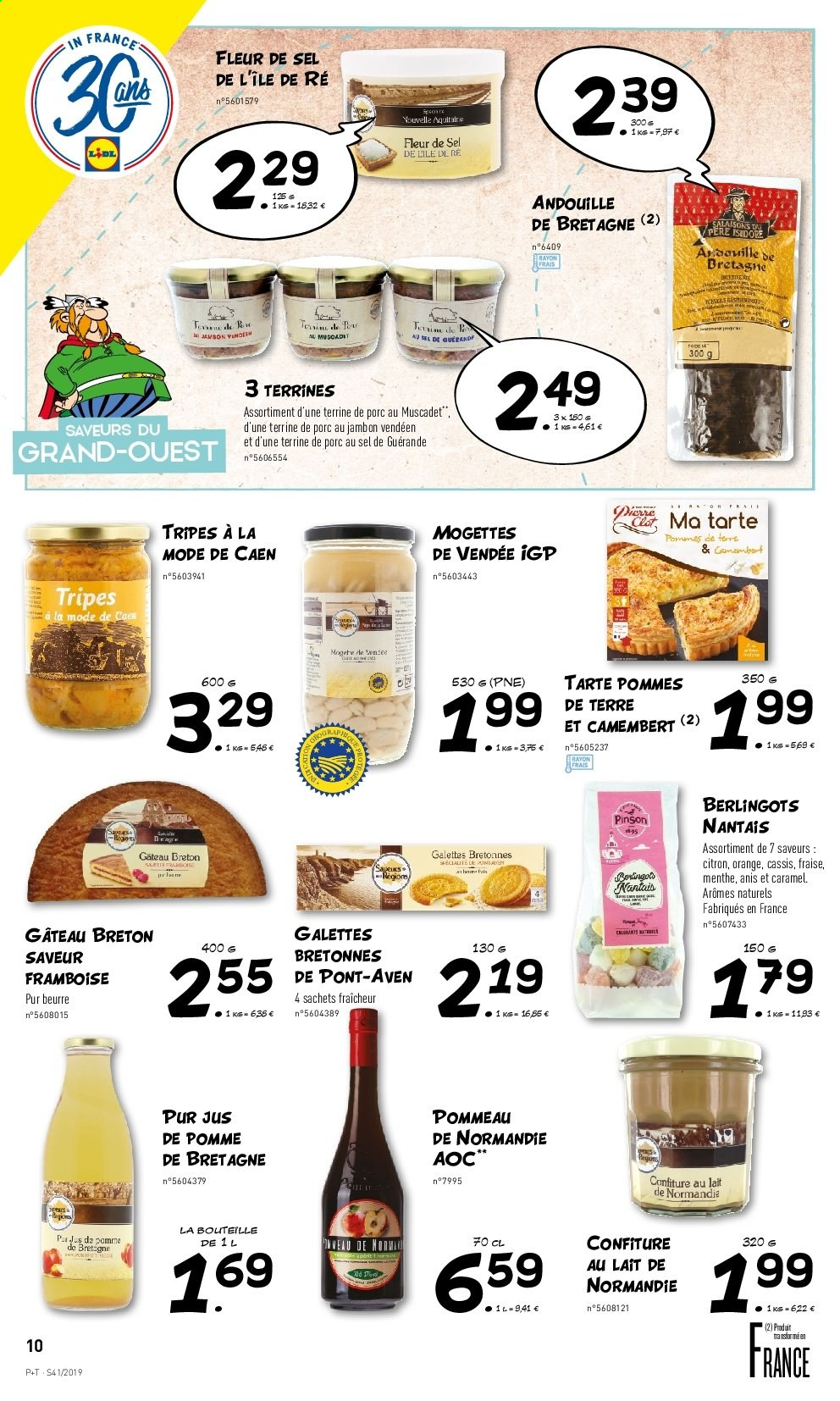 Catalogue Lidl - 09.10.2019 - 15.10.2019. Page 10.
