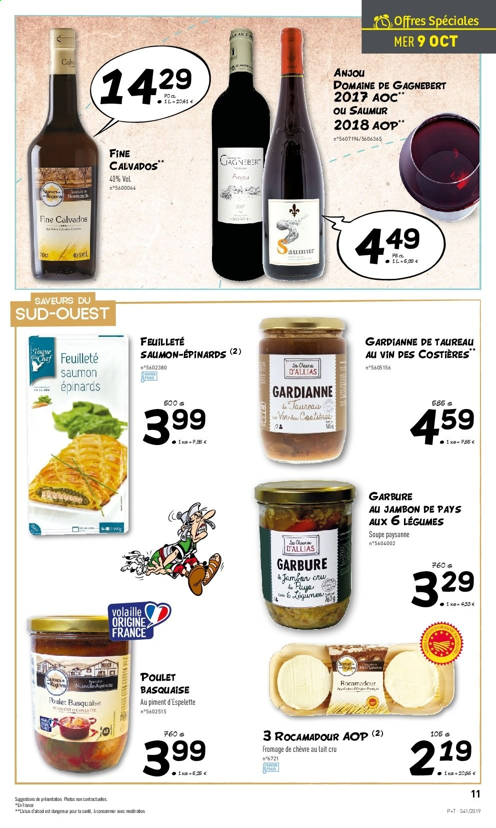 Catalogue Lidl - 09.10.2019 - 15.10.2019. Page 11.