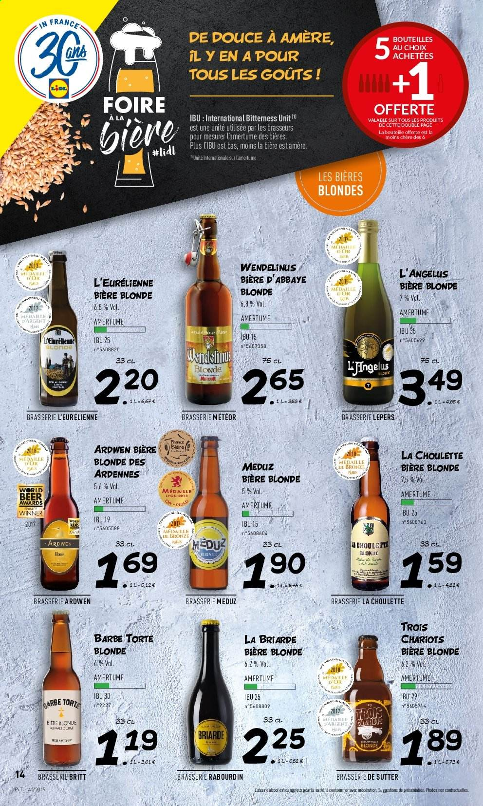 Catalogue Lidl - 09.10.2019 - 15.10.2019. Page 14.