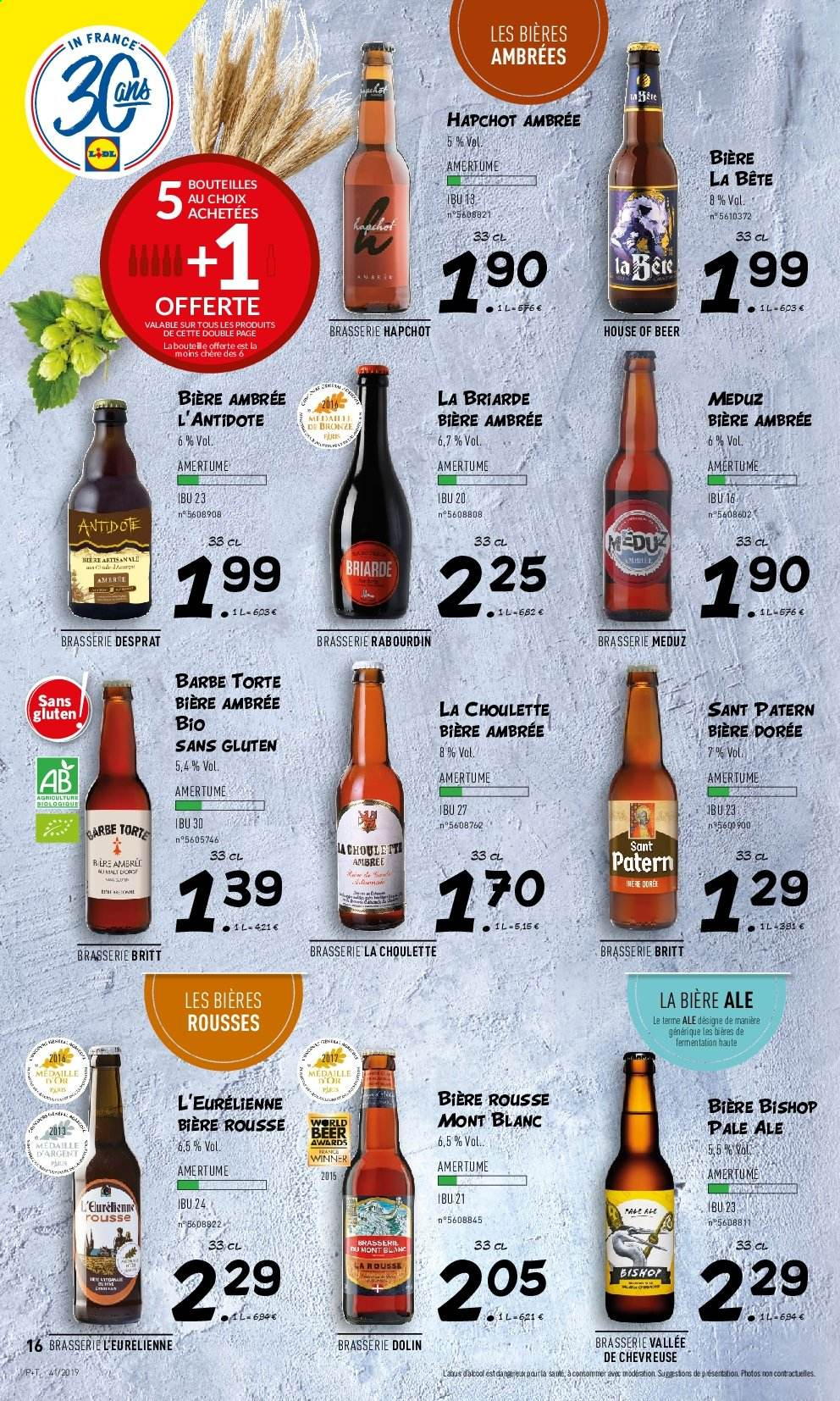 Catalogue Lidl - 09.10.2019 - 15.10.2019. Page 16.