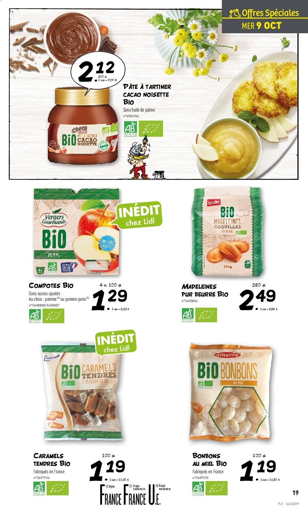 Catalogue Lidl - 09.10.2019 - 15.10.2019. Page 19.