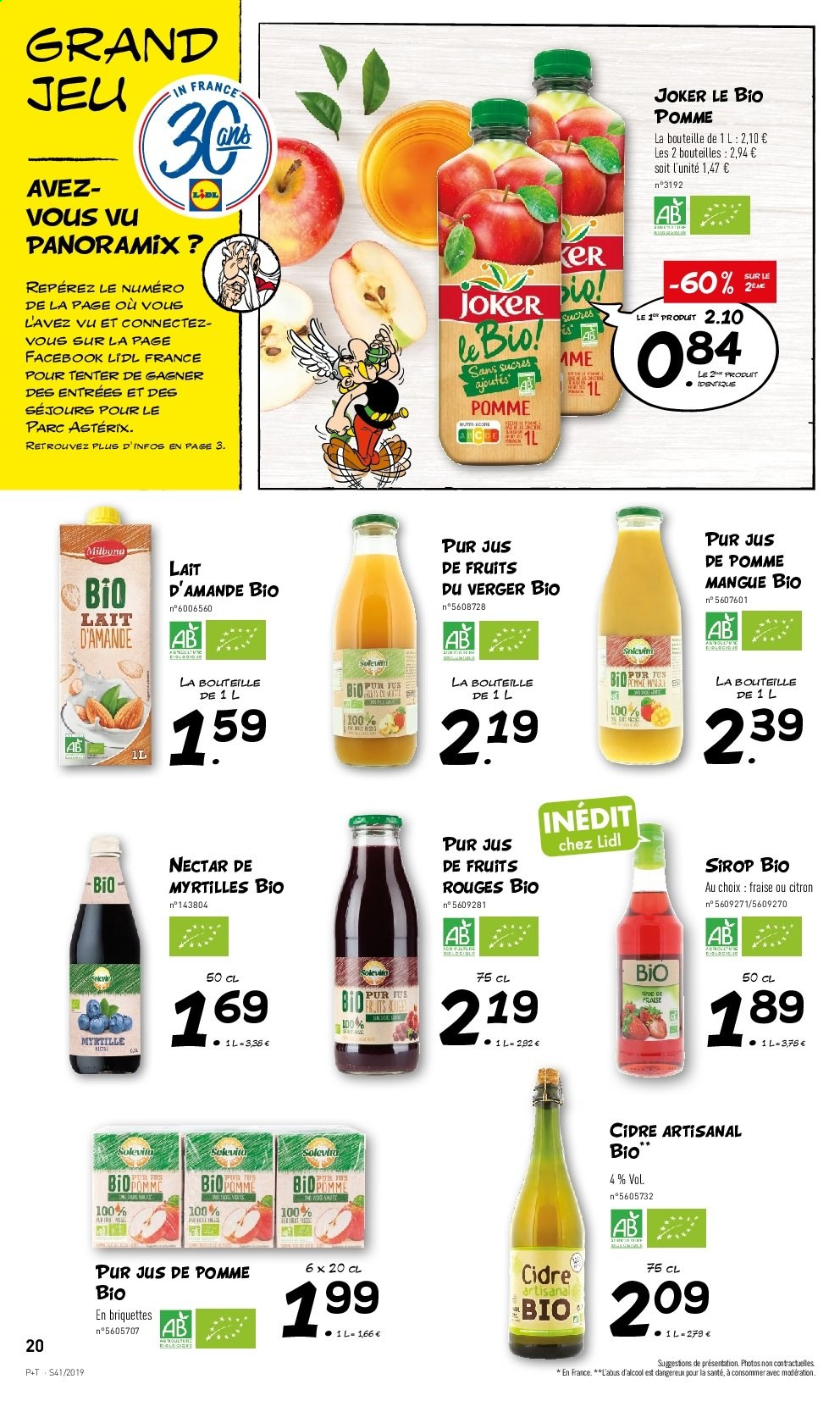 Catalogue Lidl - 09.10.2019 - 15.10.2019. Page 20.
