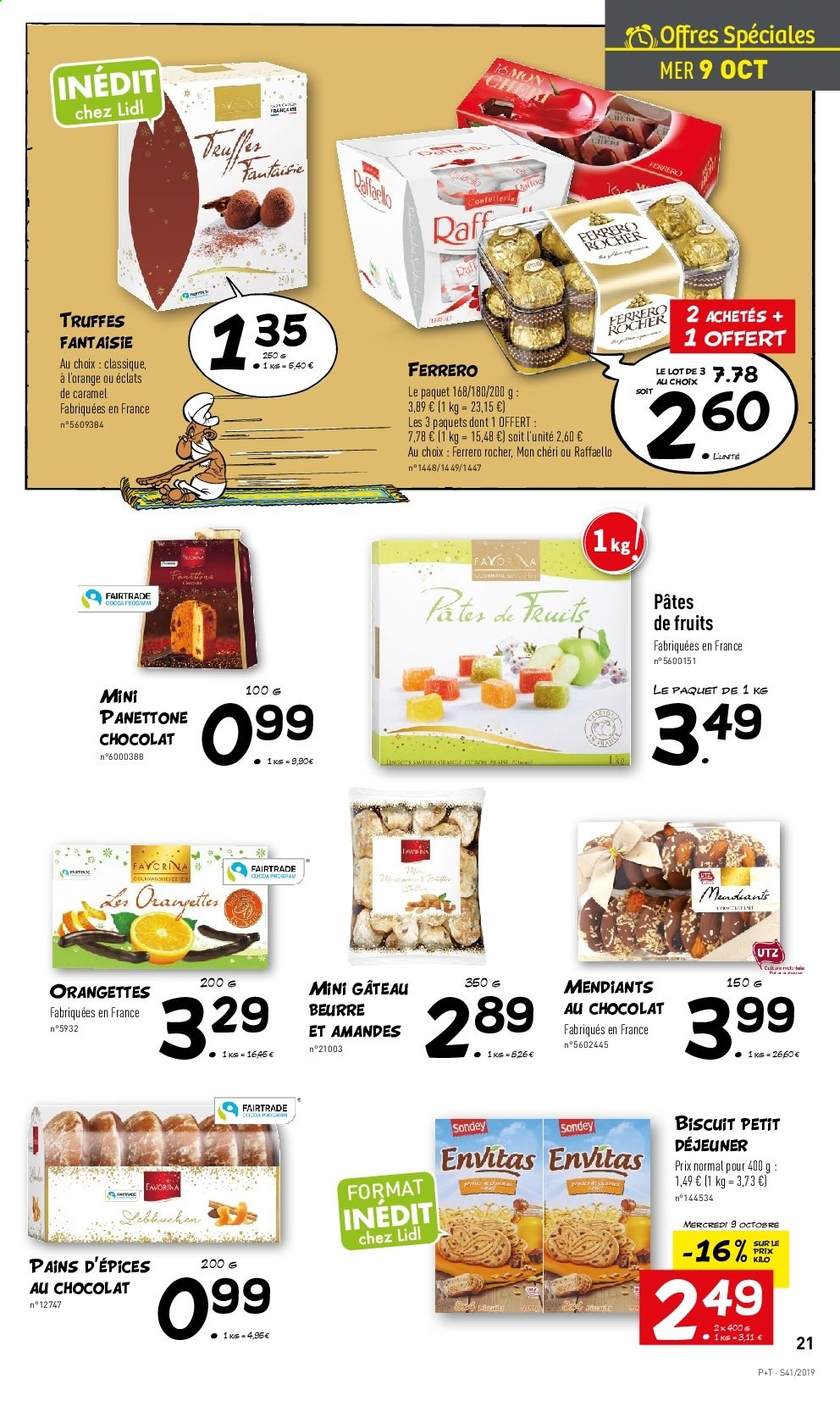 Catalogue Lidl - 09.10.2019 - 15.10.2019. Page 21.