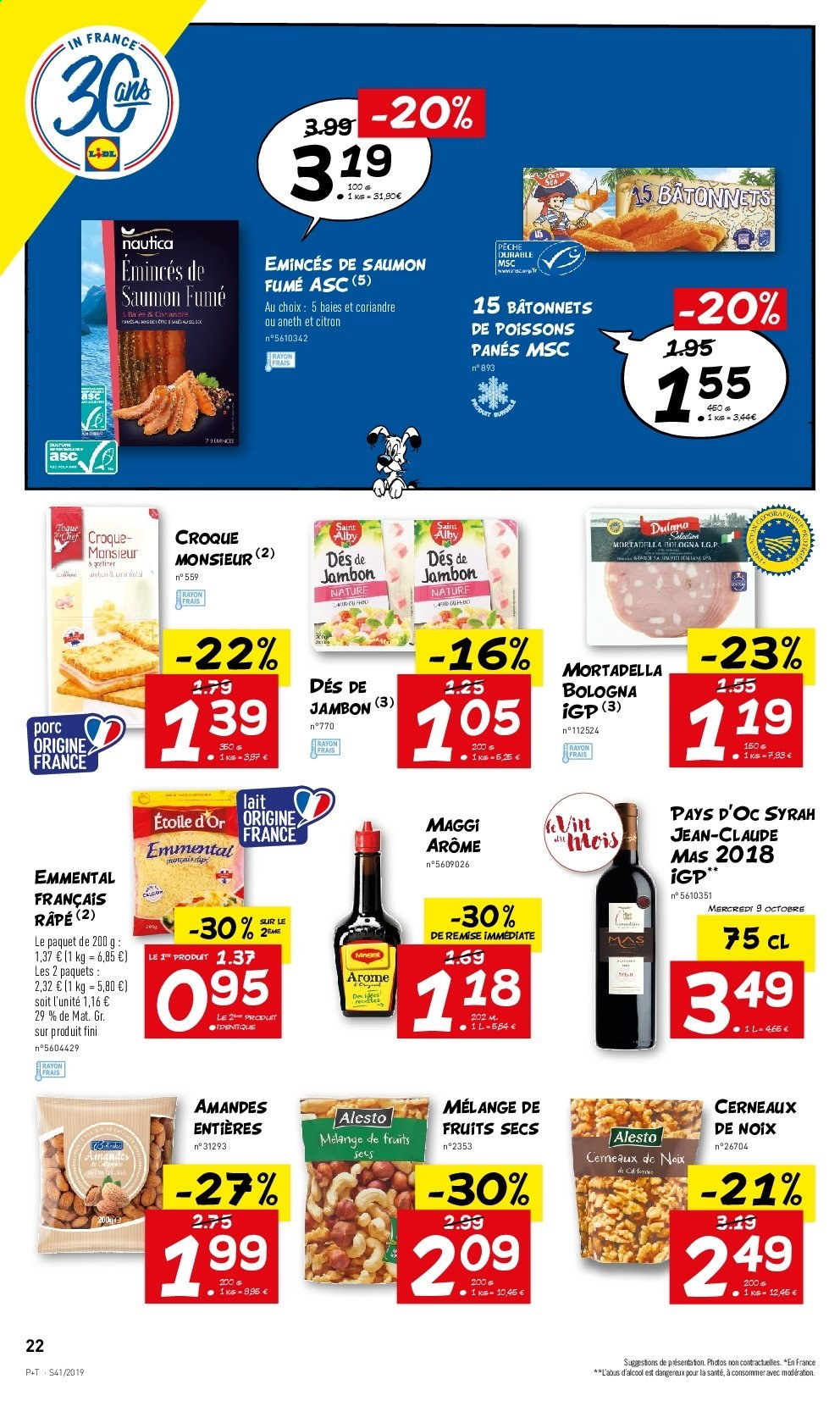 Catalogue Lidl - 09.10.2019 - 15.10.2019. Page 22.