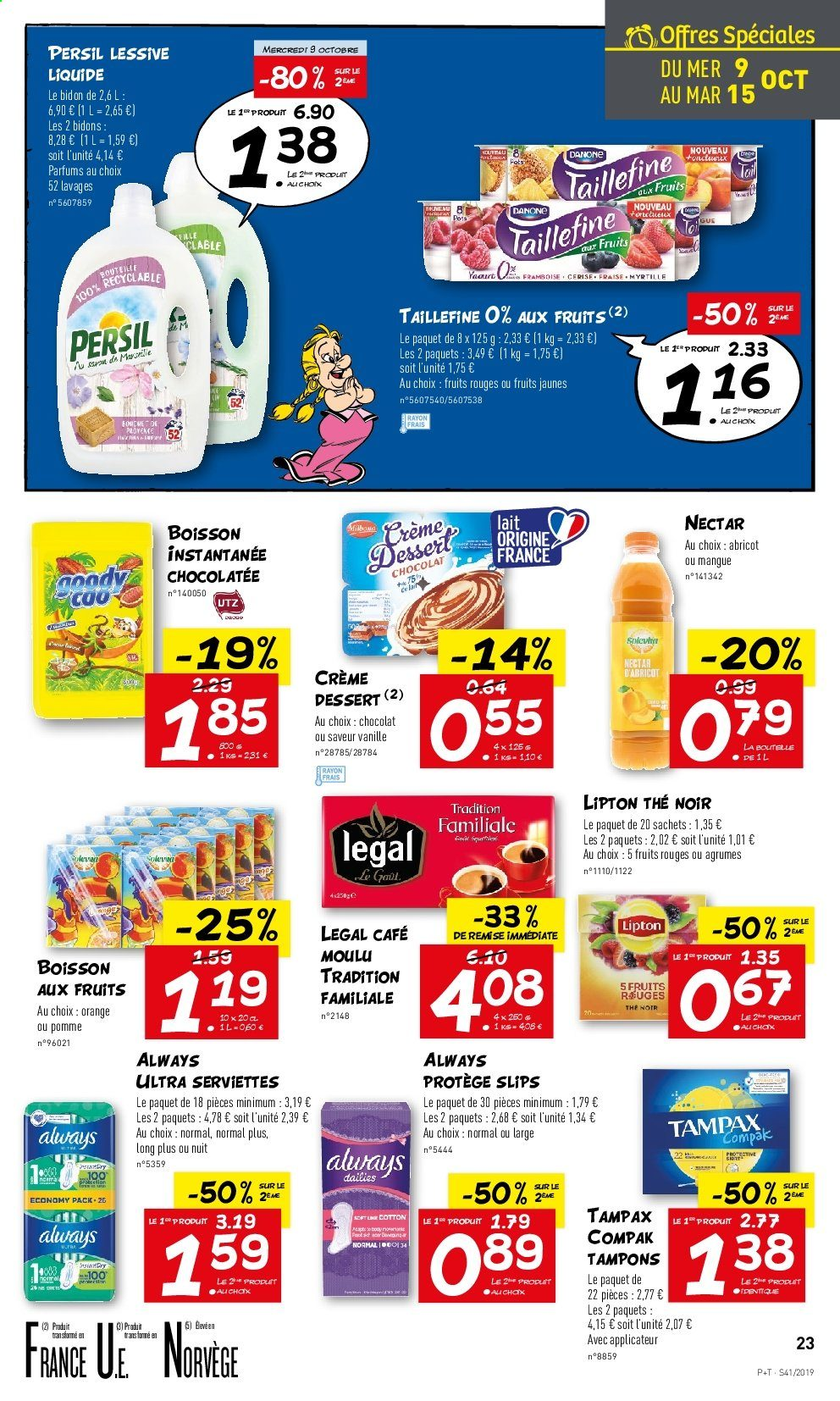 Catalogue Lidl - 09.10.2019 - 15.10.2019. Page 23.