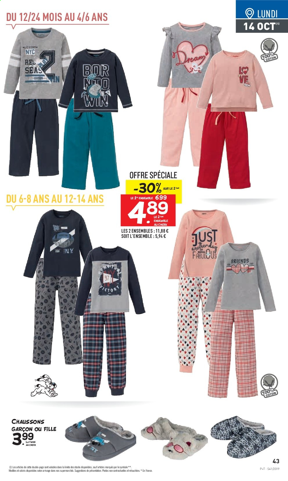 Catalogue Lidl - 09.10.2019 - 15.10.2019. Page 43.