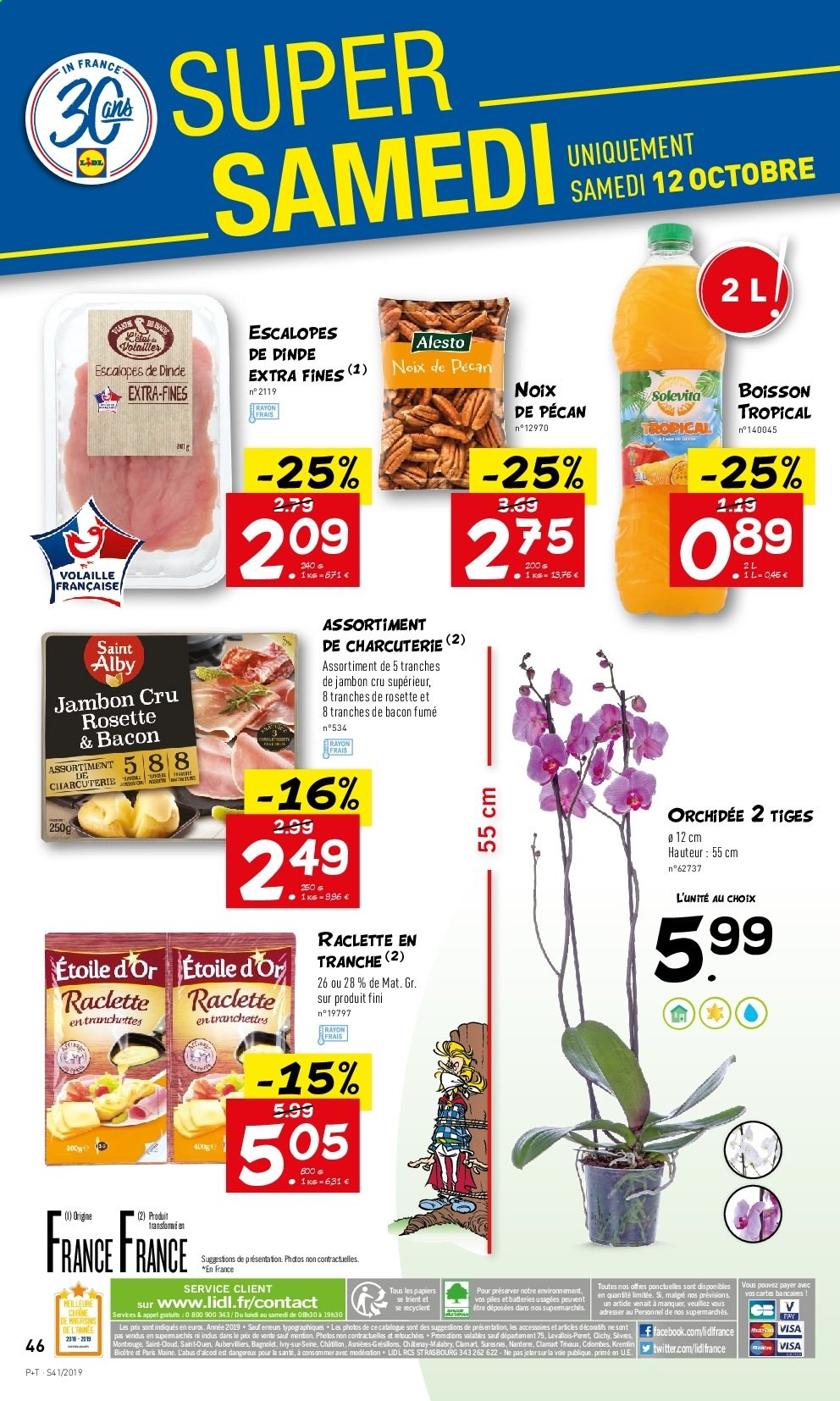 Catalogue Lidl - 09.10.2019 - 15.10.2019. Page 46.
