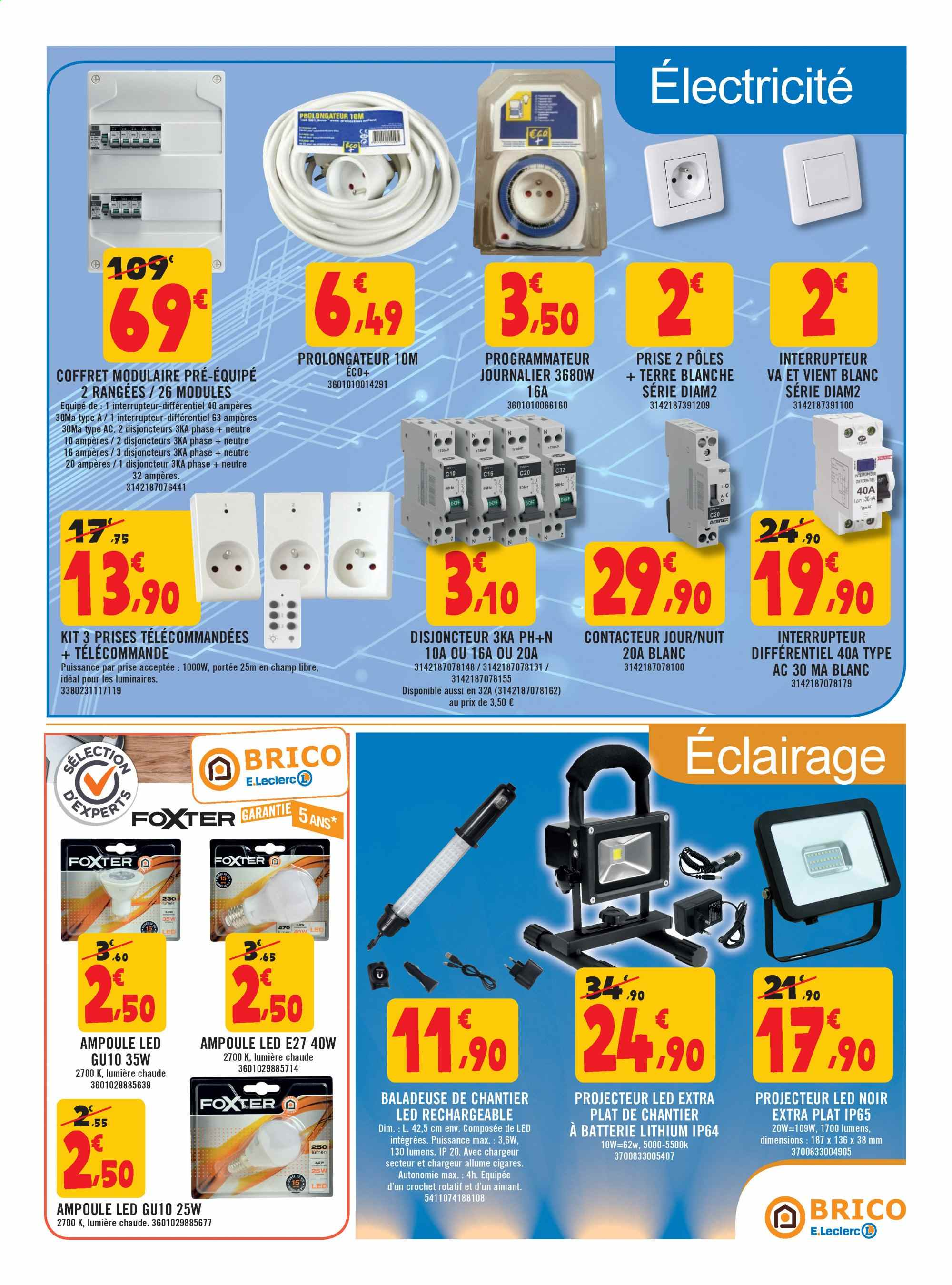 Catalogue E.Leclerc - 02.10.2019 - 19.10.2019. Page 9.