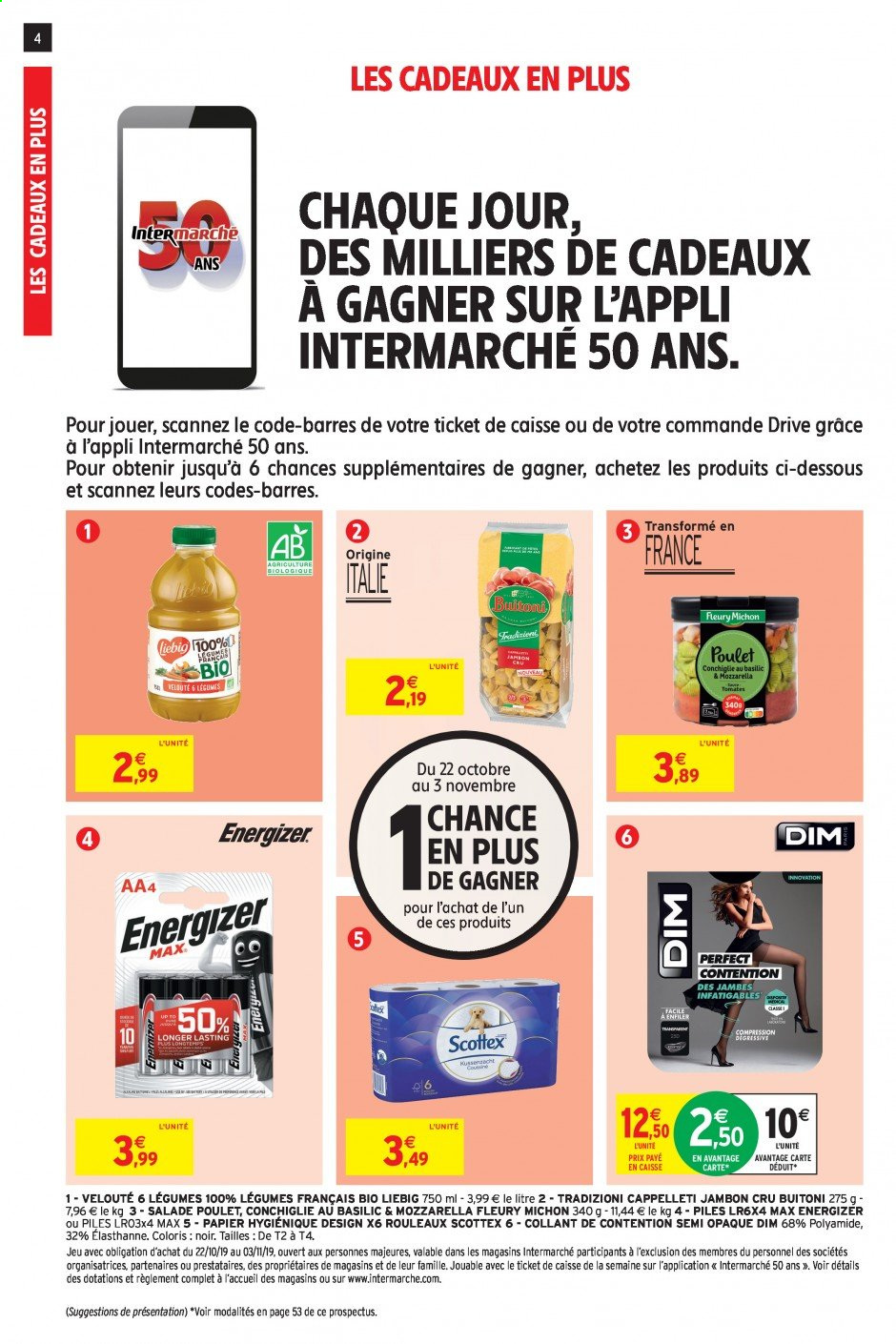 Catalogue Intermarché - 22.10.2019 - 03.11.2019. Page 4.