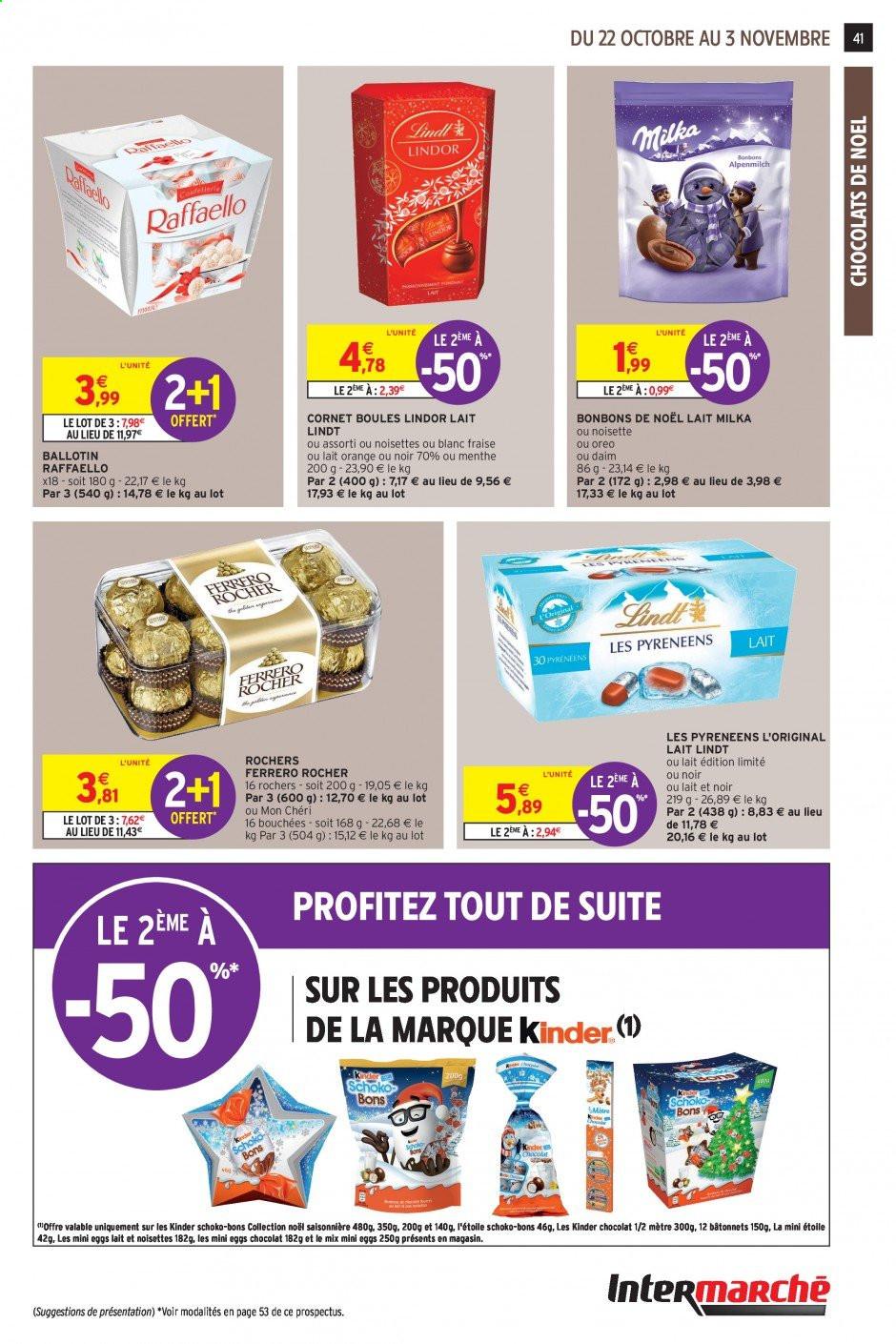 Catalogue Intermarché - 22.10.2019 - 03.11.2019. Page 39.