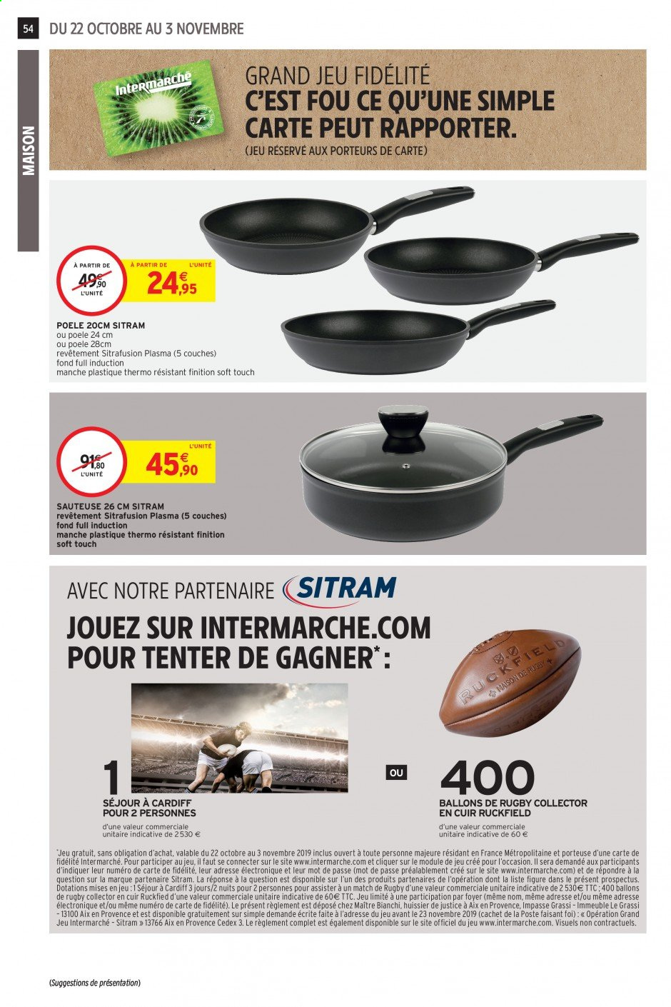 Catalogue Intermarché - 22.10.2019 - 03.11.2019. Page 52.