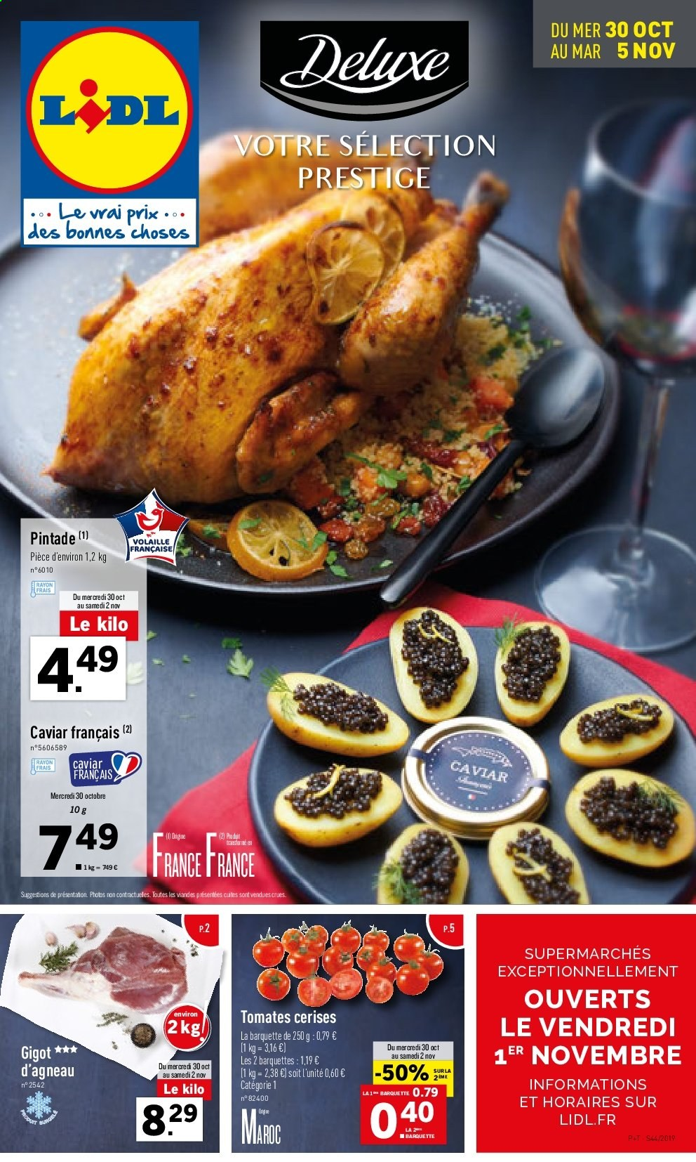 Catalogue Lidl - 30.10.2019 - 05.11.2019. Page 1.