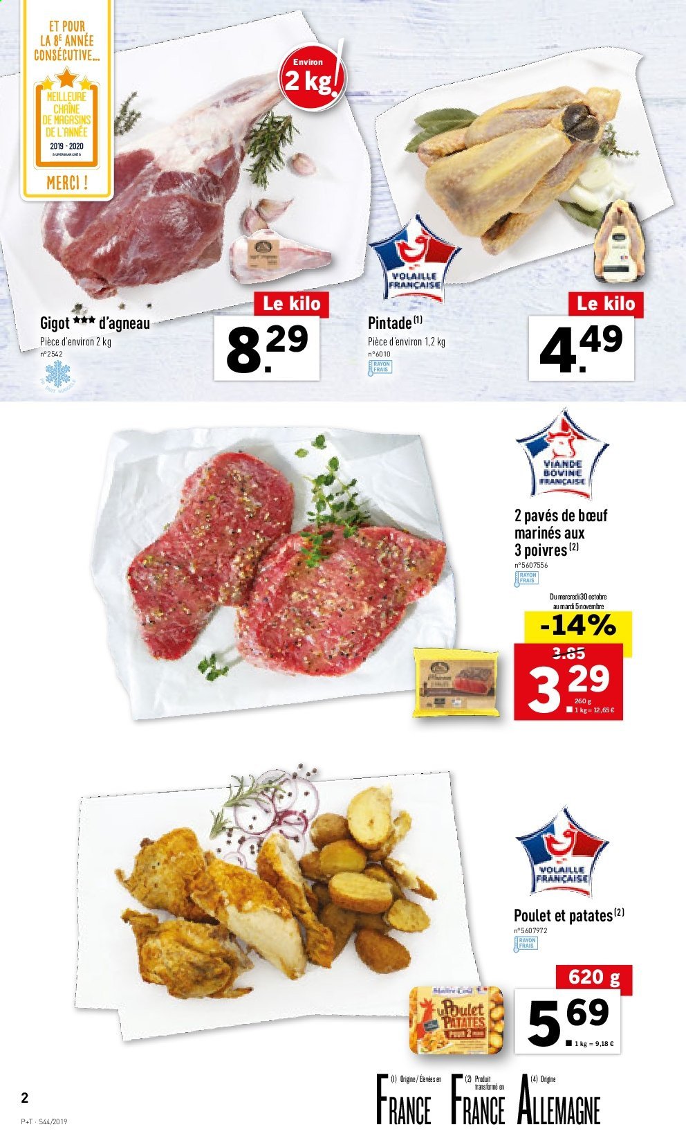 Catalogue Lidl - 30.10.2019 - 05.11.2019. Page 2.