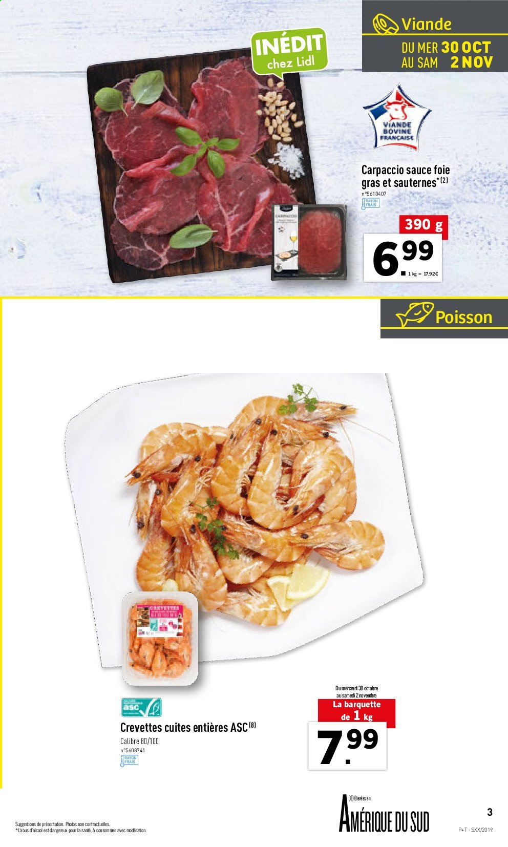 Catalogue Lidl - 30.10.2019 - 05.11.2019. Page 3.