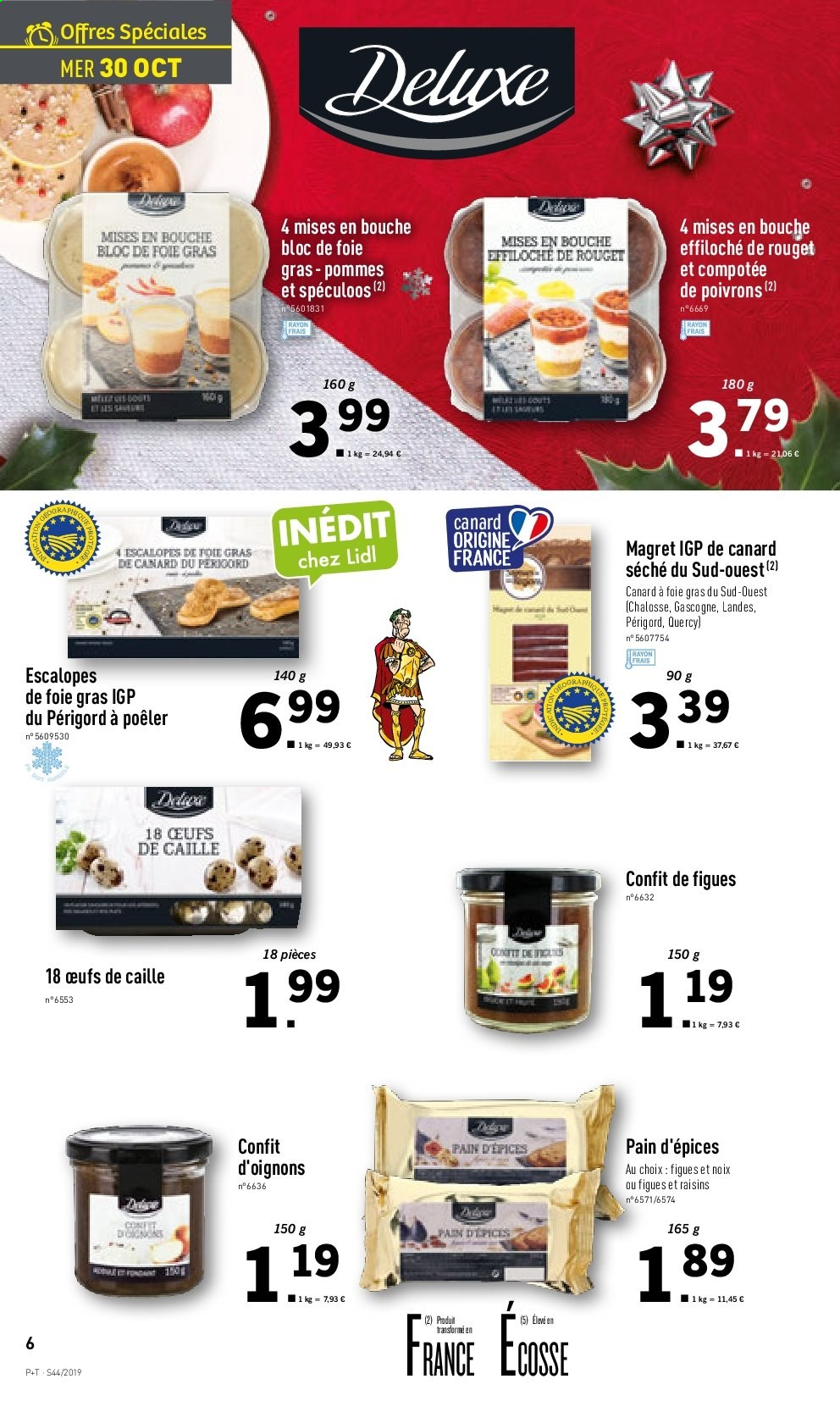 Catalogue Lidl - 30.10.2019 - 05.11.2019. Page 6.