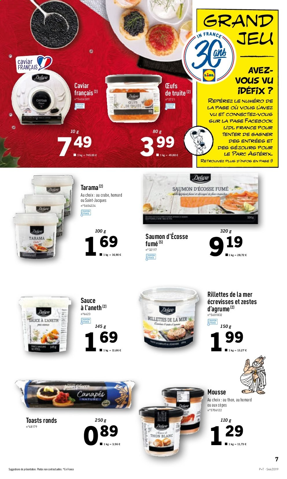 Catalogue Lidl - 30.10.2019 - 05.11.2019. Page 7.