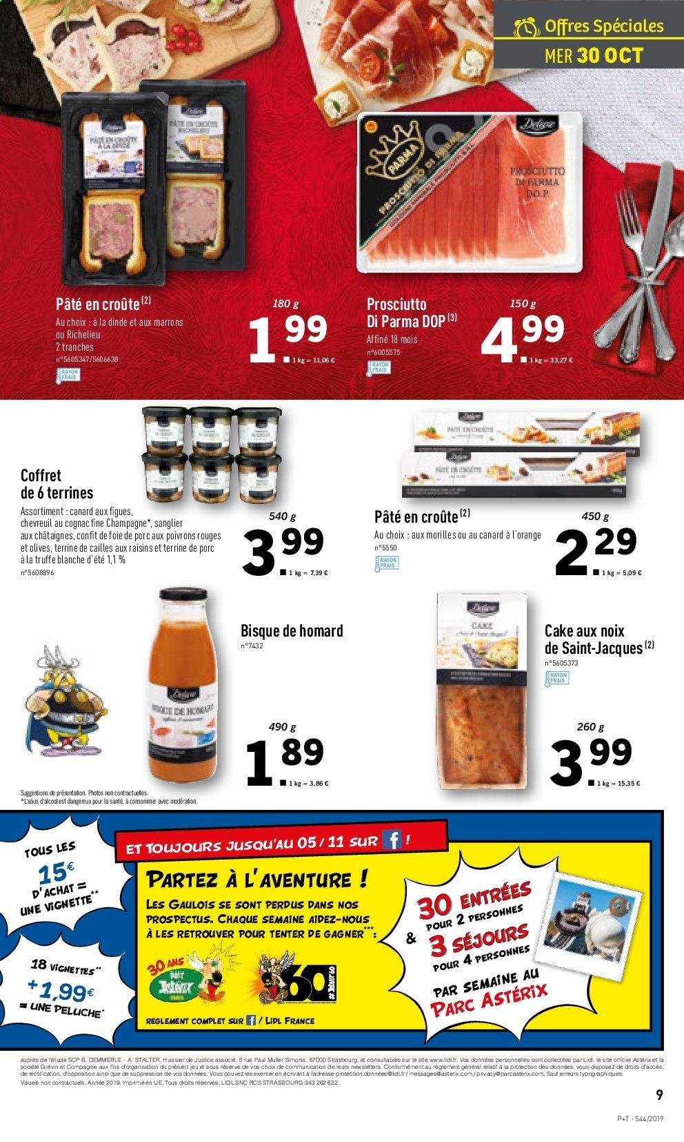 Catalogue Lidl - 30.10.2019 - 05.11.2019. Page 9.