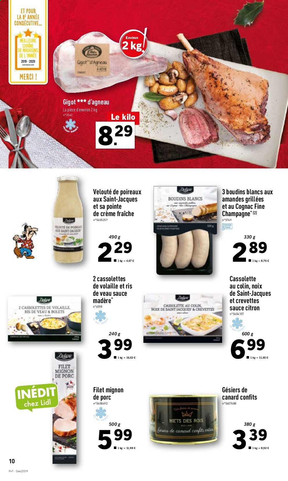 Catalogue Lidl - 30.10.2019 - 05.11.2019. Page 10.