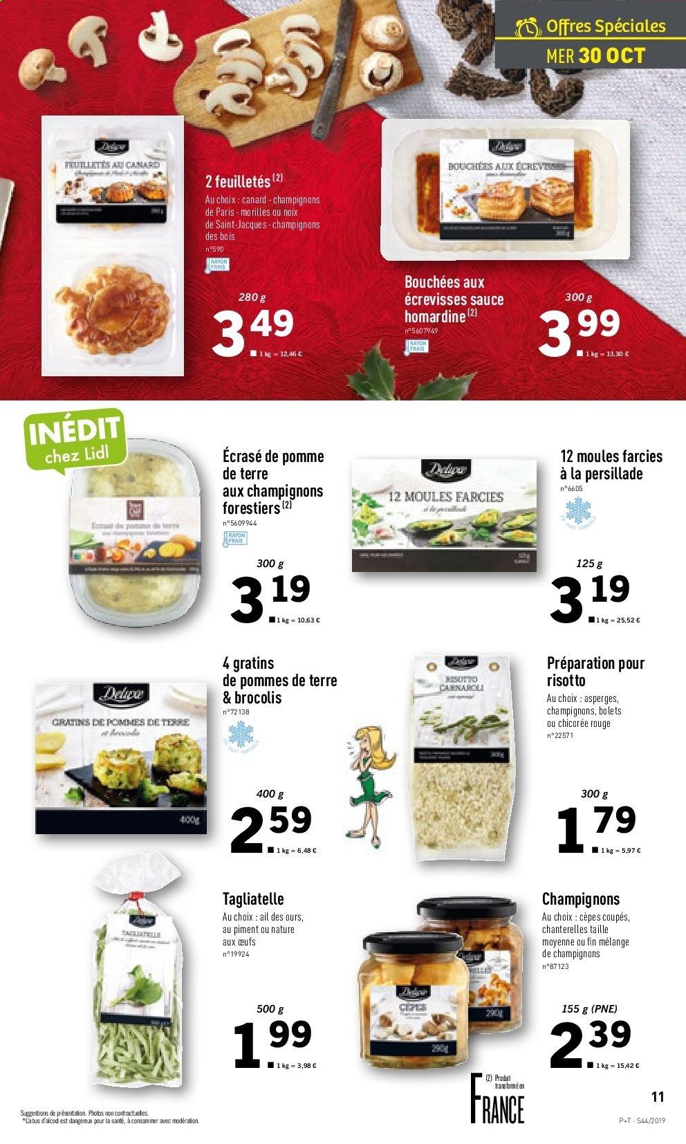 Catalogue Lidl - 30.10.2019 - 05.11.2019. Page 11.