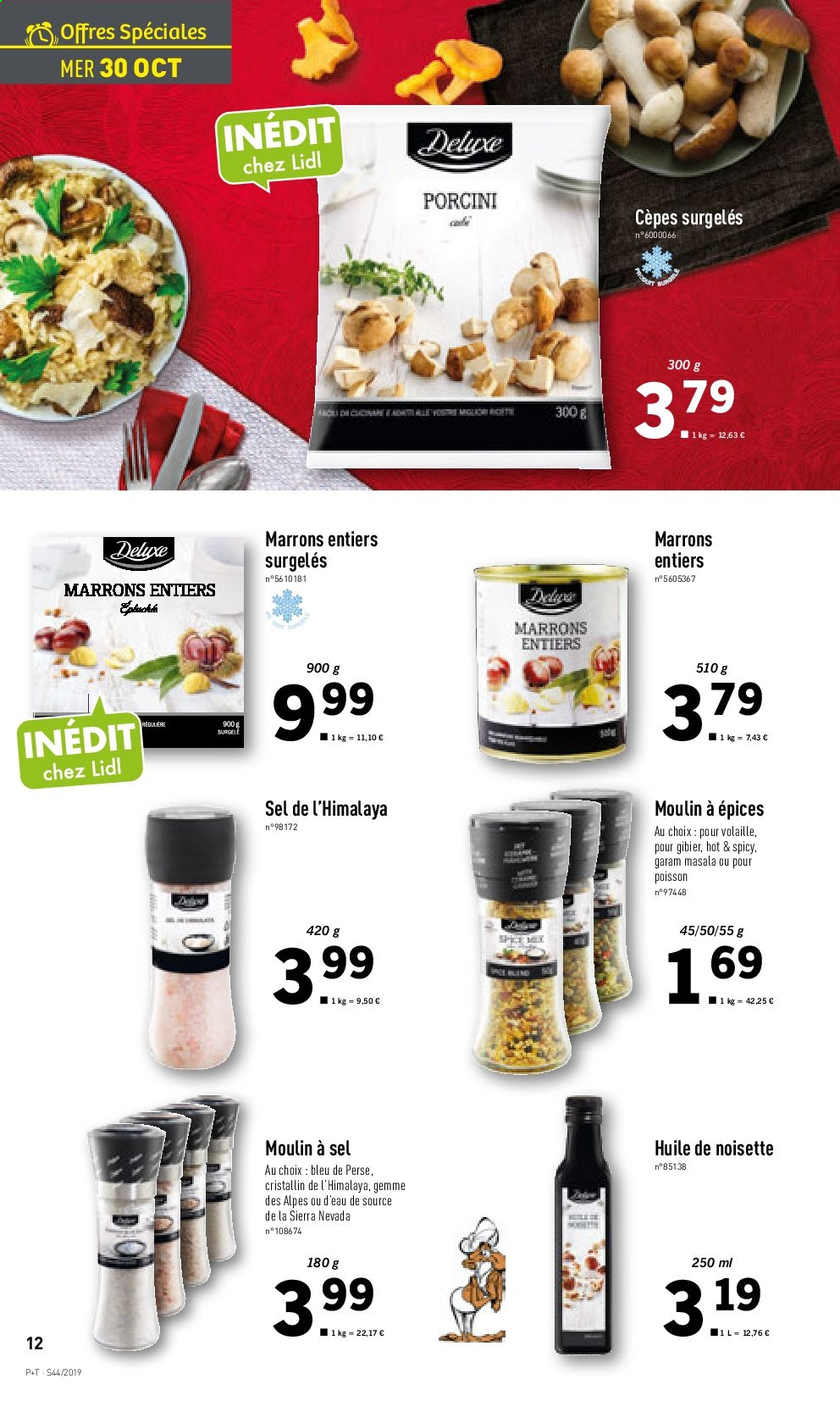Catalogue Lidl - 30.10.2019 - 05.11.2019. Page 12.