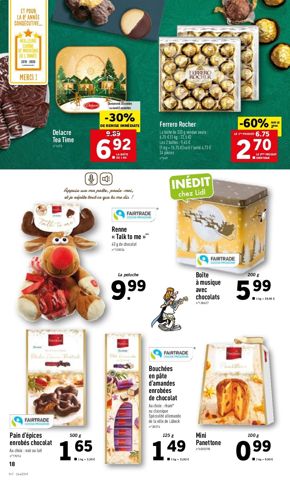 Catalogue Lidl - 30.10.2019 - 05.11.2019. Page 18.