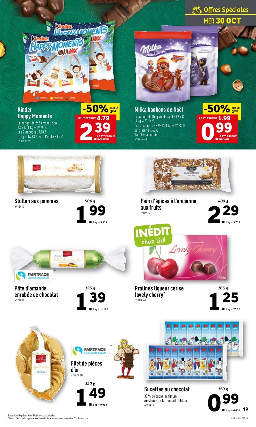 Catalogue Lidl - 30.10.2019 - 05.11.2019. Page 19.