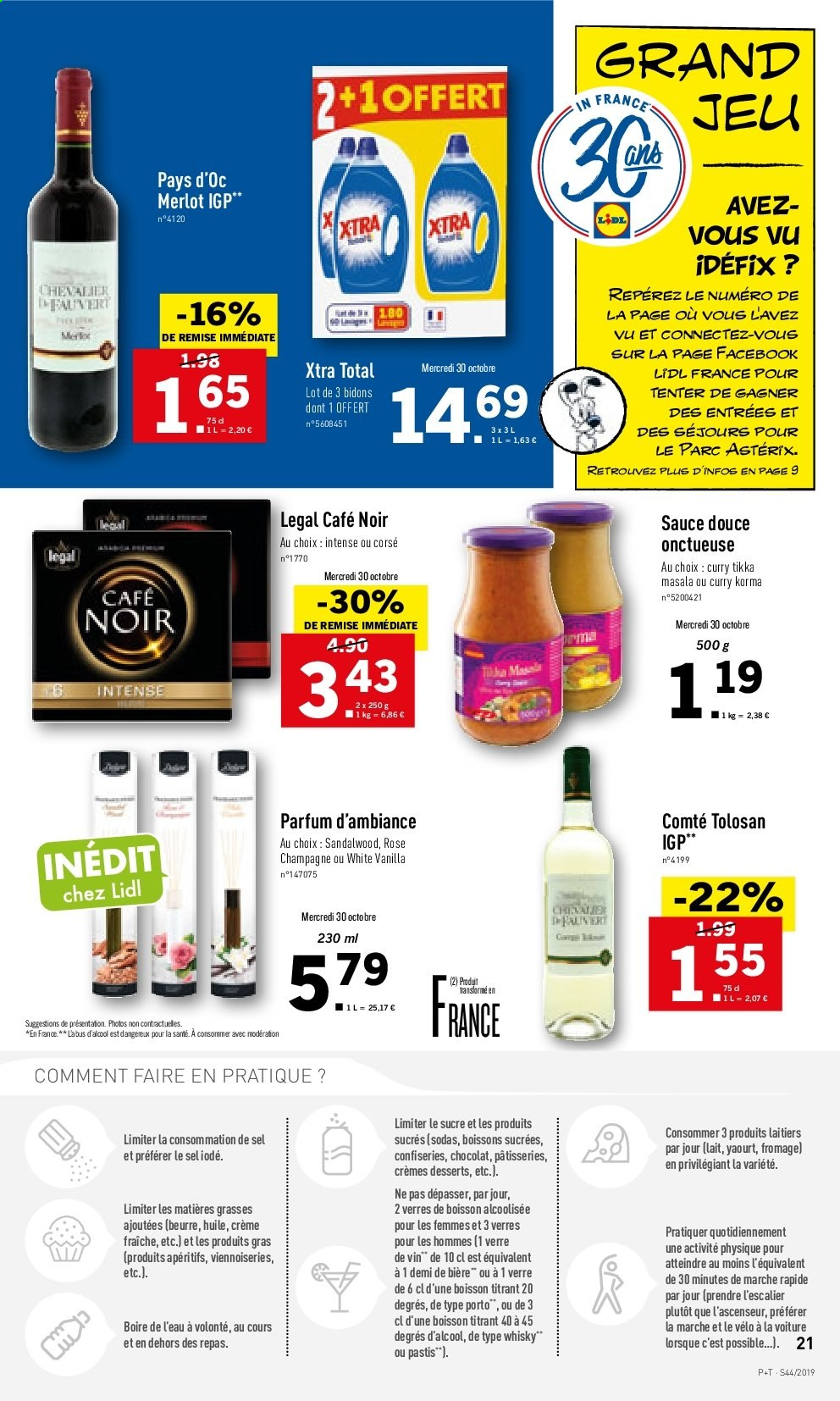 Catalogue Lidl - 30.10.2019 - 05.11.2019. Page 21.