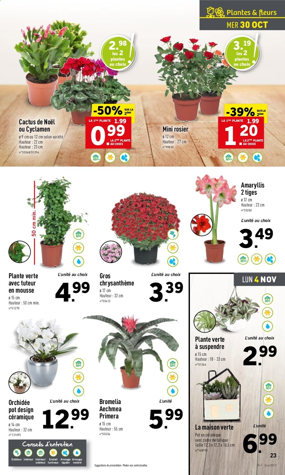 Catalogue Lidl - 30.10.2019 - 05.11.2019. Page 23.
