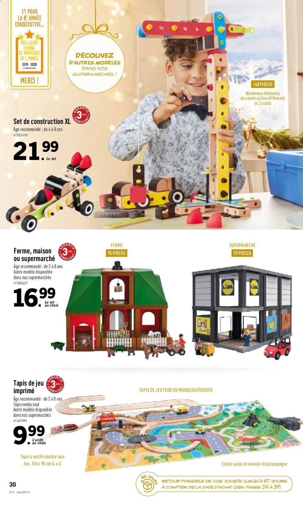 Catalogue Lidl - 30.10.2019 - 05.11.2019. Page 30.