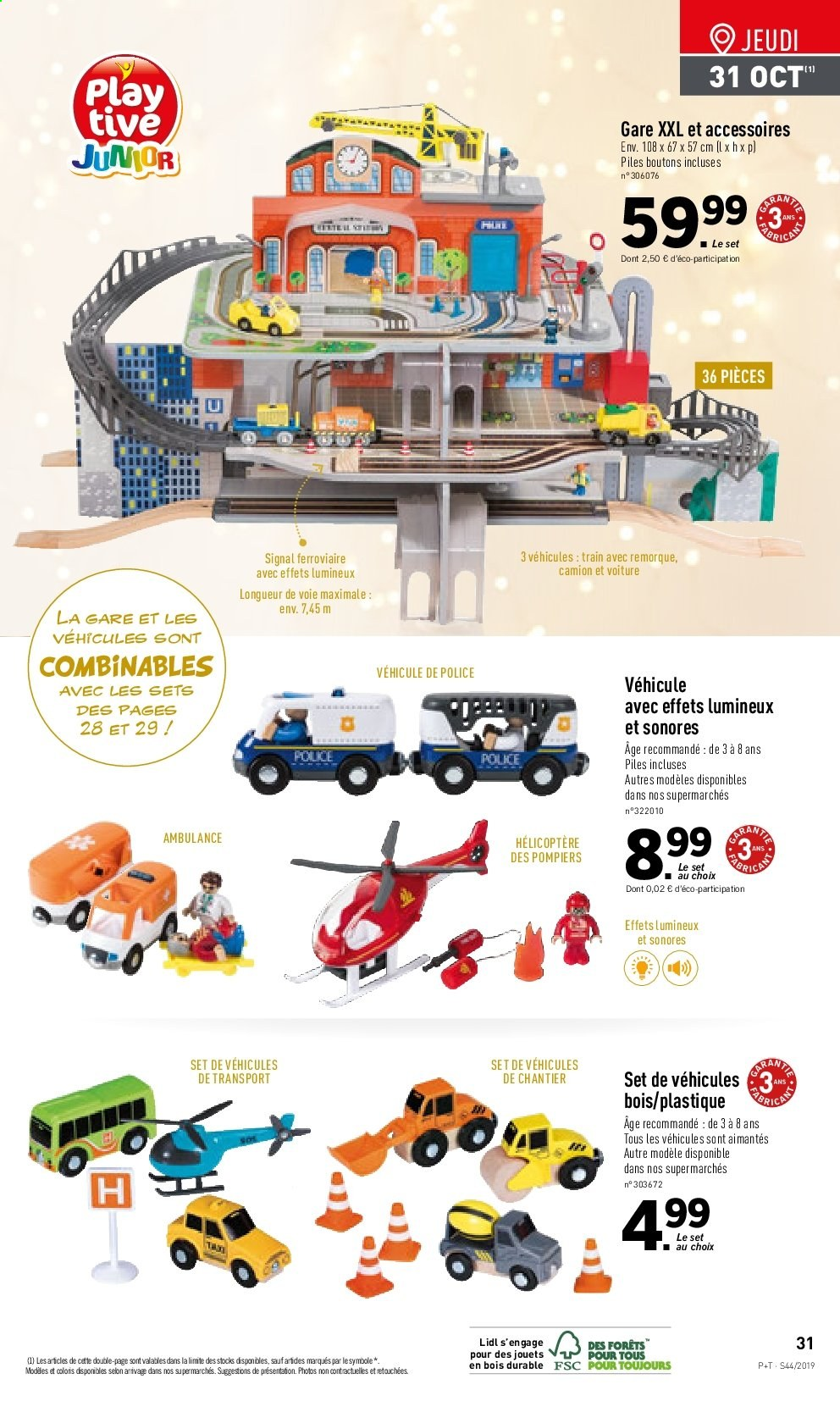 Catalogue Lidl - 30.10.2019 - 05.11.2019. Page 31.