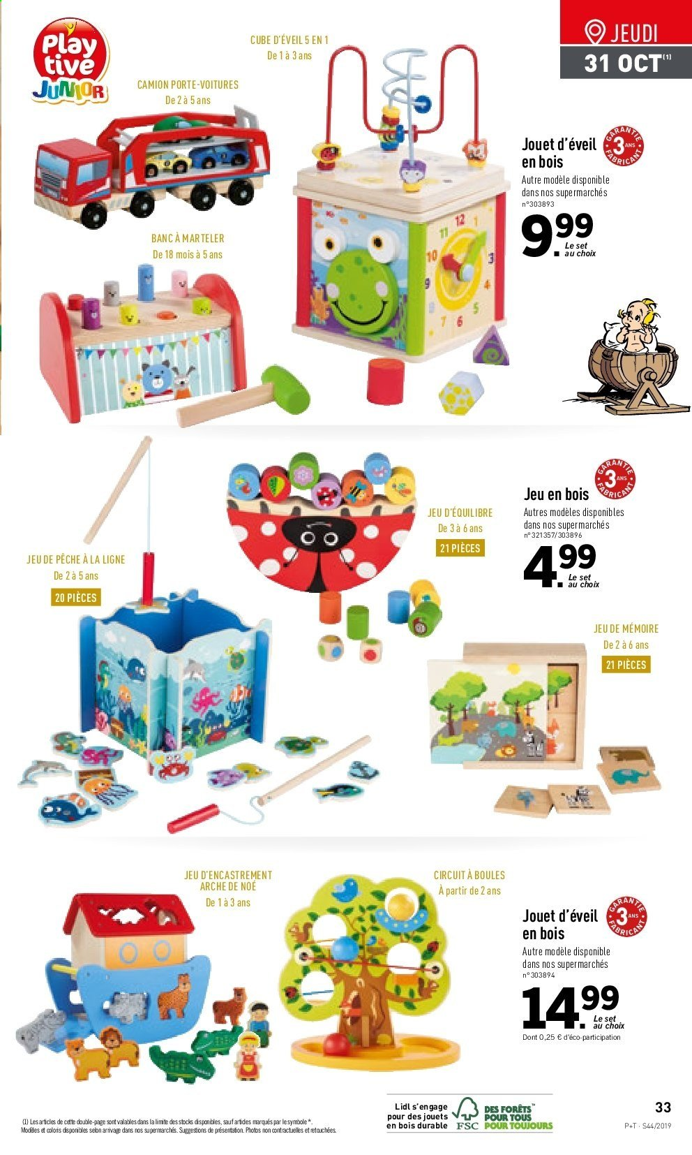 Catalogue Lidl - 30.10.2019 - 05.11.2019. Page 33.