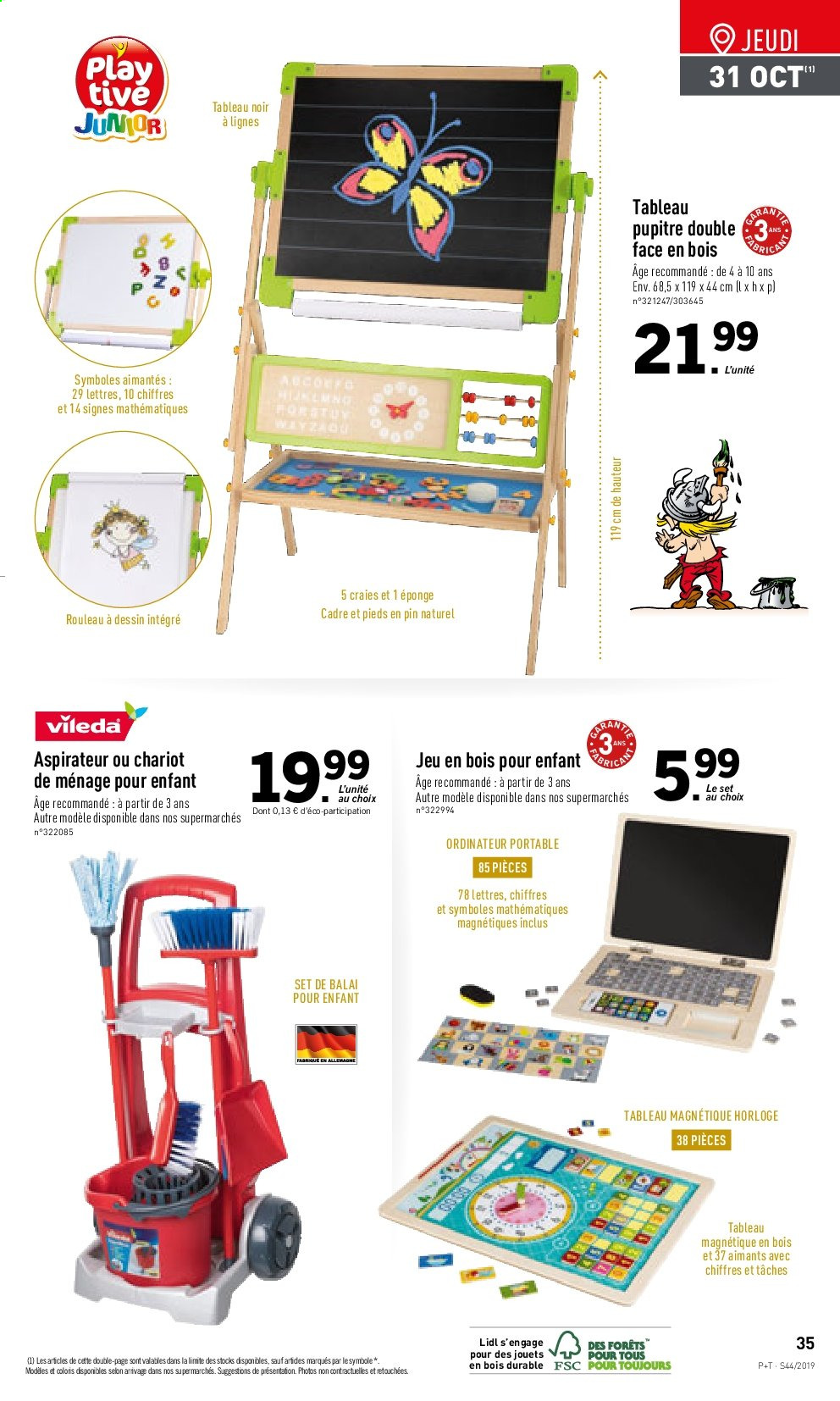 Catalogue Lidl - 30.10.2019 - 05.11.2019. Page 35.