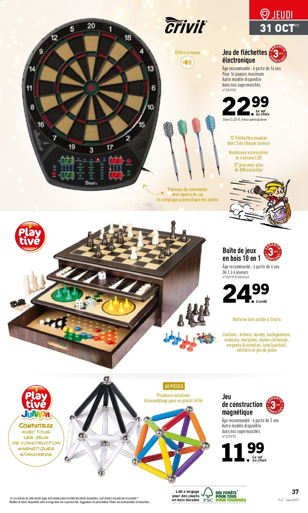Catalogue Lidl - 30.10.2019 - 05.11.2019. Page 37.
