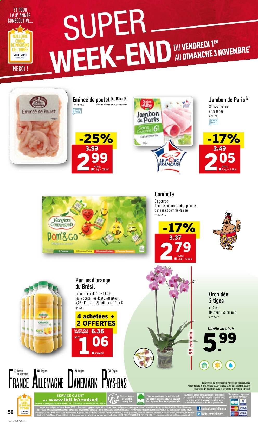 Catalogue Lidl - 30.10.2019 - 05.11.2019. Page 50.