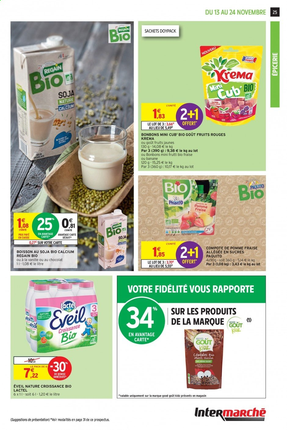 Catalogue Intermarché - 13.11.2019 - 24.11.2019. Page 25.