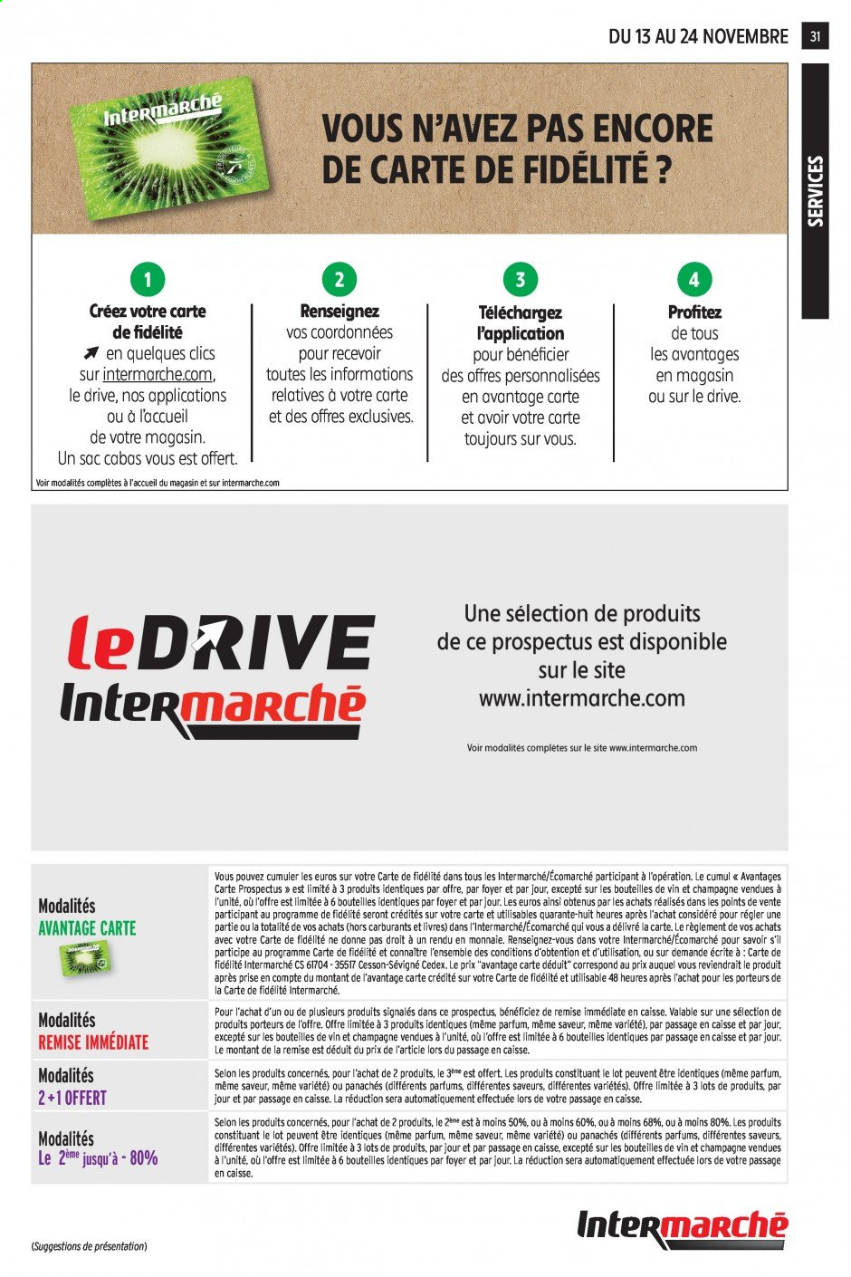 Catalogue Intermarché - 13.11.2019 - 24.11.2019. Page 31.