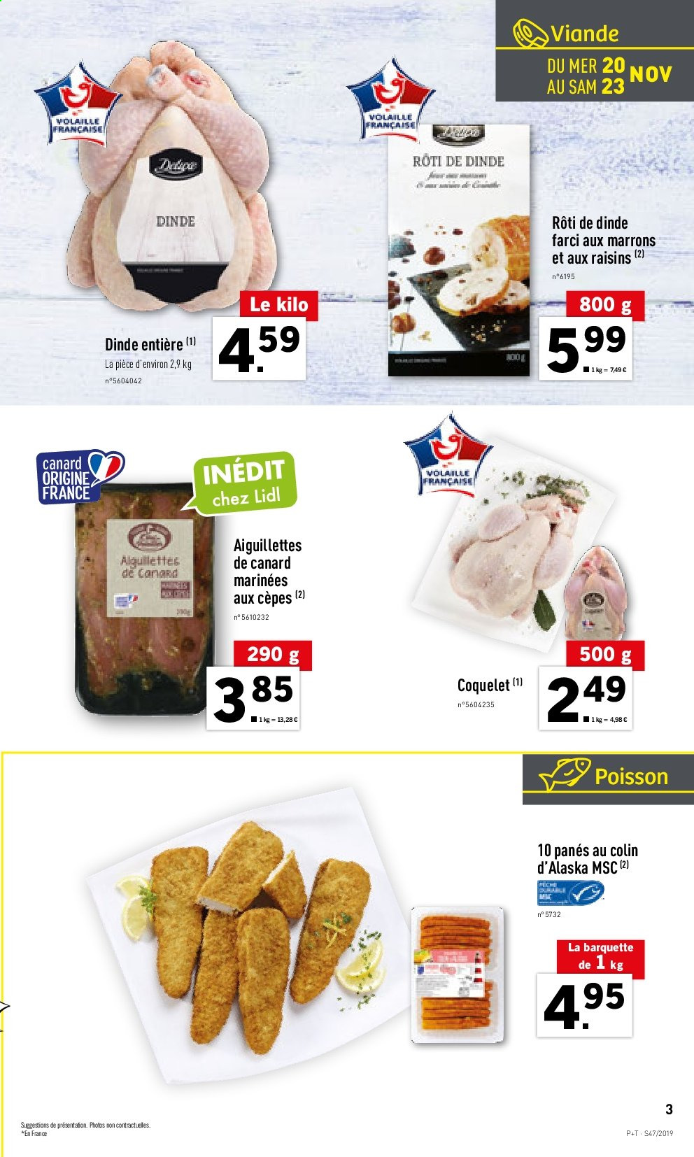 Catalogue Lidl - 20.11.2019 - 26.11.2019. Page 3.